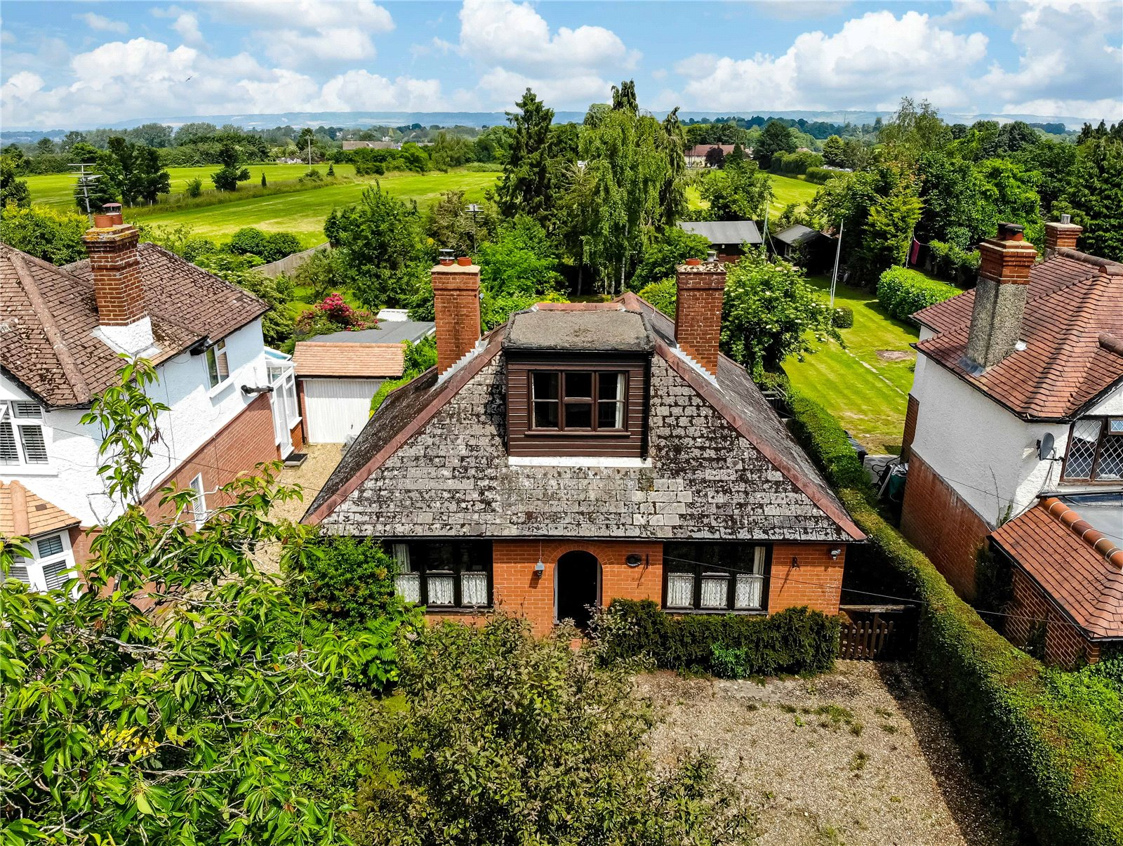 2 bed bungalow for sale in Heath Road, Boughton Monchelsea, ME17