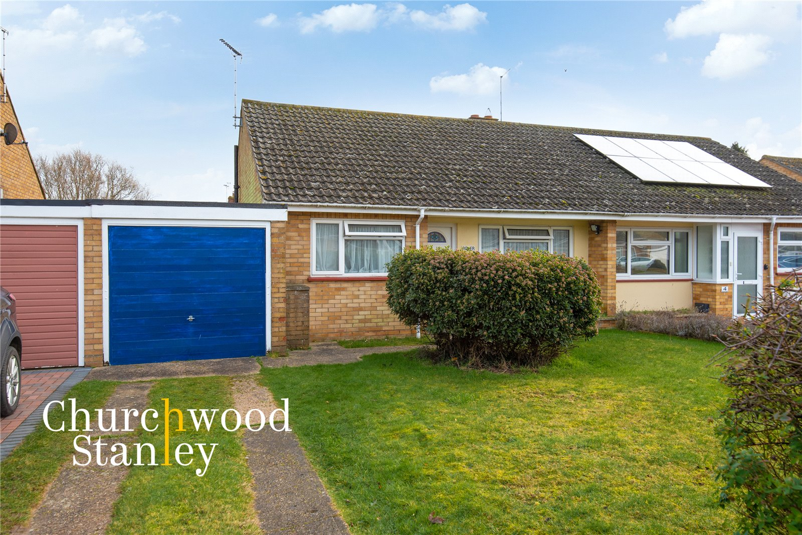 2 bed semi-detached bungalow for sale in Seaton Close, Lawford, Manningtree, CO11