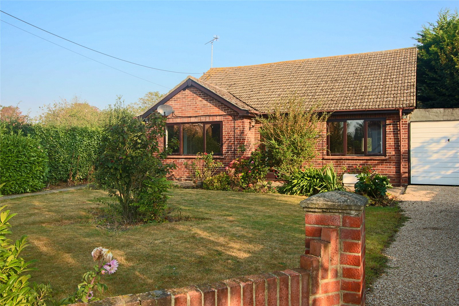 2 bed bungalow for sale in Heath Road, Bradfield, Manningtree, CO11