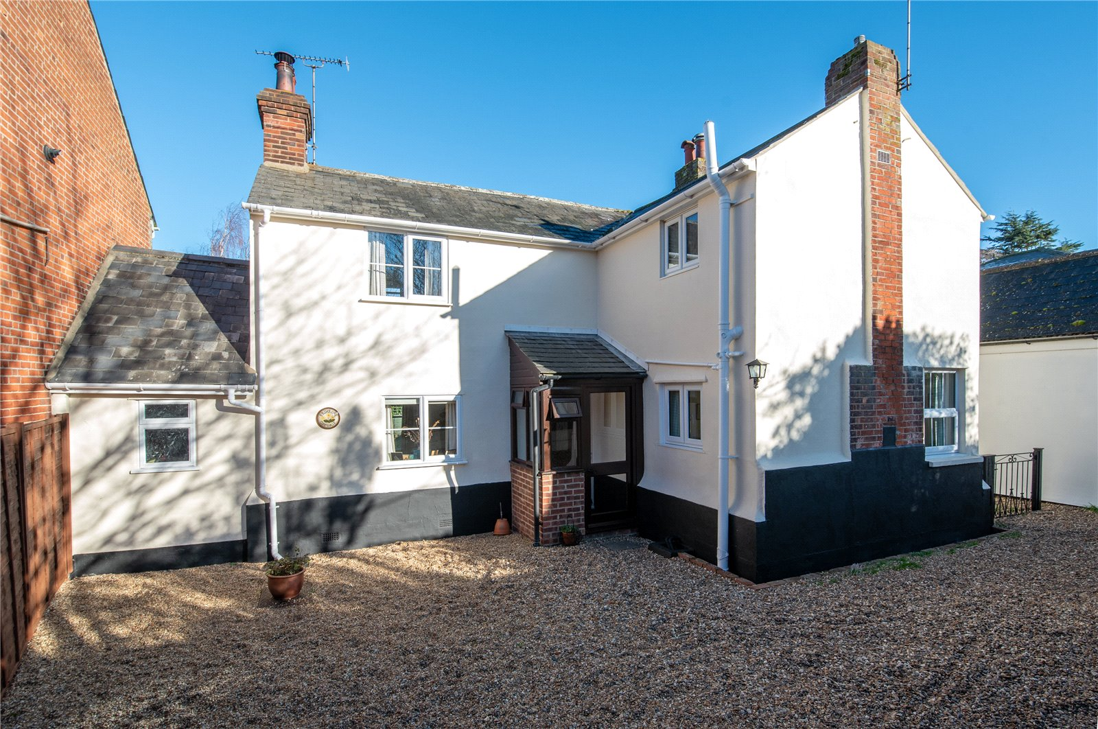3 bed link detached house for sale in The Chase, New Road, Manningtree - Property Image 1