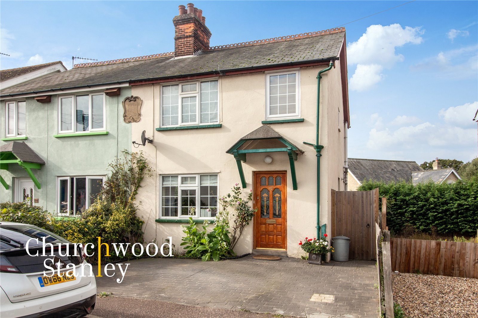 3 bed semi-detached house for sale in California Road, Mistley, Manningtree, CO11