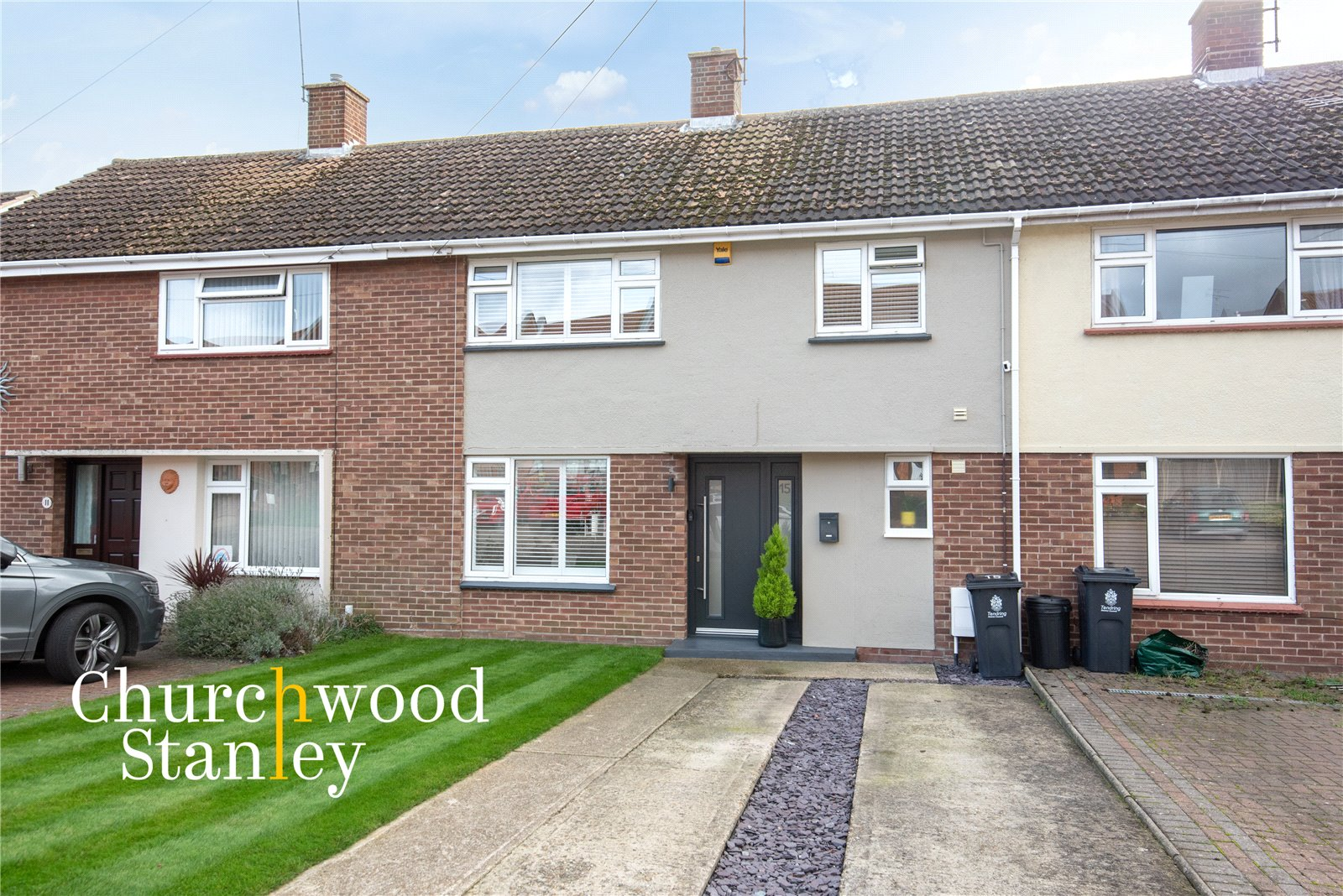 3 bed terraced house for sale in Deanes Close, Dovercourt, Harwich, CO12