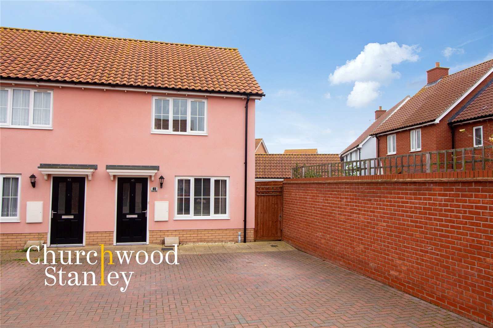 2 bed semi-detached house for sale in Cross Road, Clacton-on-Sea, CO16