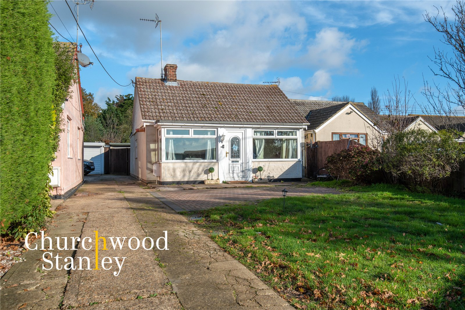 2 bed bungalow for sale in Frinton Road, Thorpe-le-Soken, Clacton-on-Sea, CO16