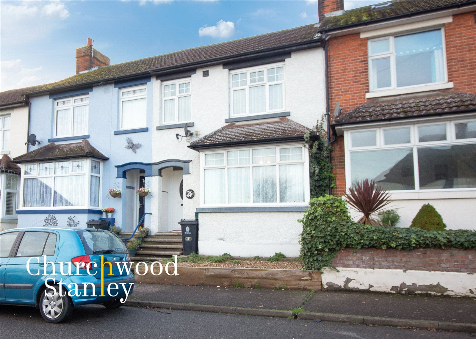 3 bed terraced house for sale in King Georges Avenue, Dovercourt Harwich, Essex, CO12