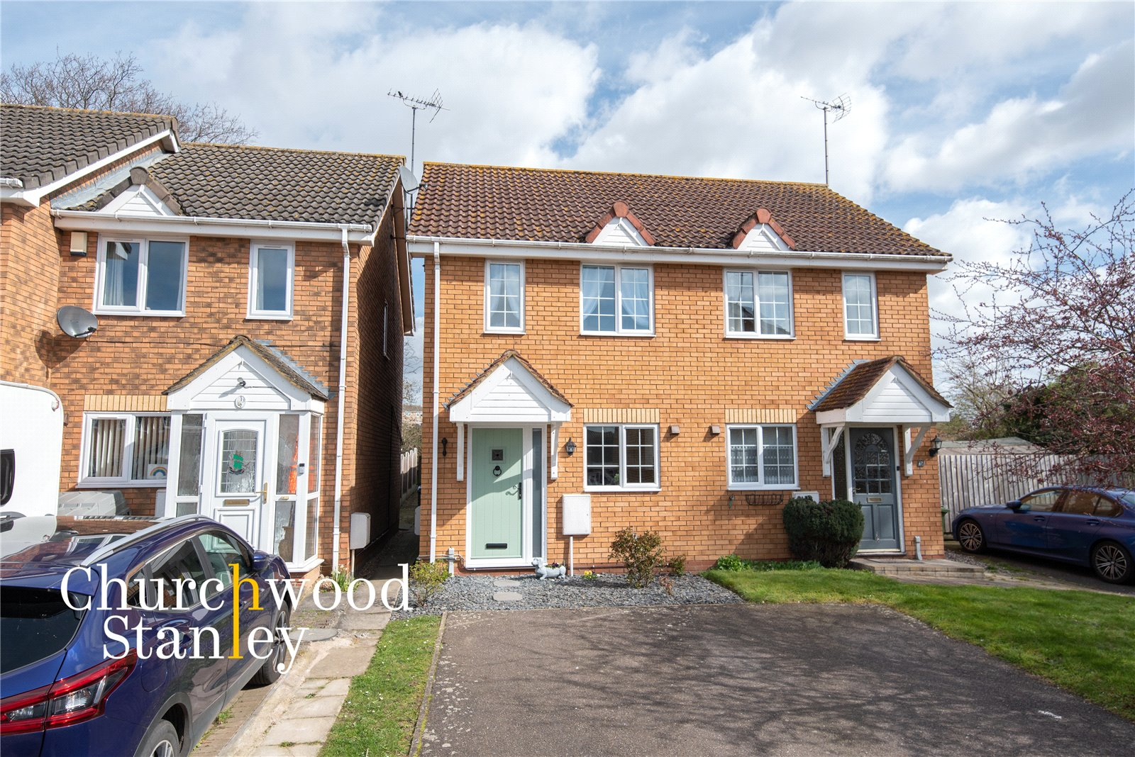 2 bed semi-detached house for sale in Grimwade Close, Brantham, Manningtree, CO11