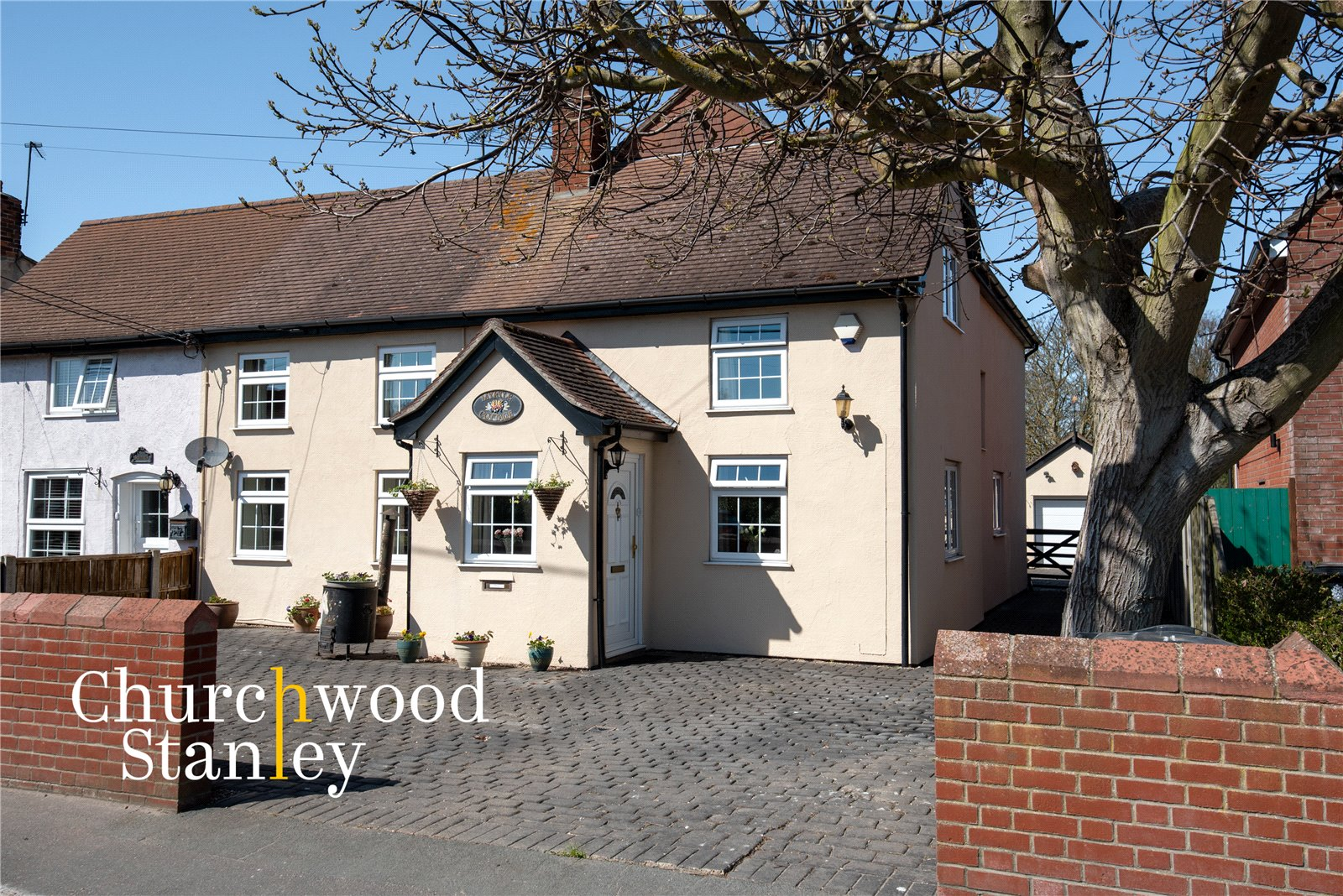 3 bed semi-detached house for sale in The Street, Tendring, Clacton-on-Sea  - Property Image 1