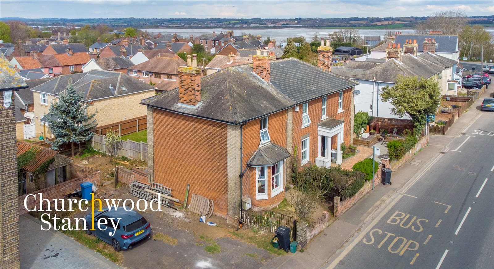 2 bed semi-detached house for sale in Harwich Road, Mistley, Manningtree, CO11