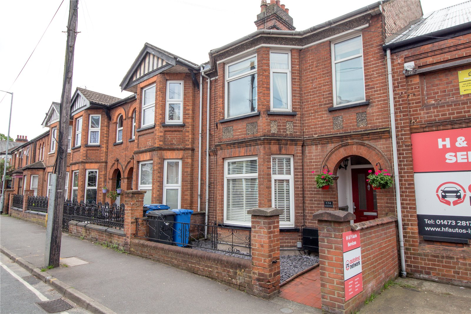 3 bed terraced house for sale in St. Helens Street, Ipswich, IP4