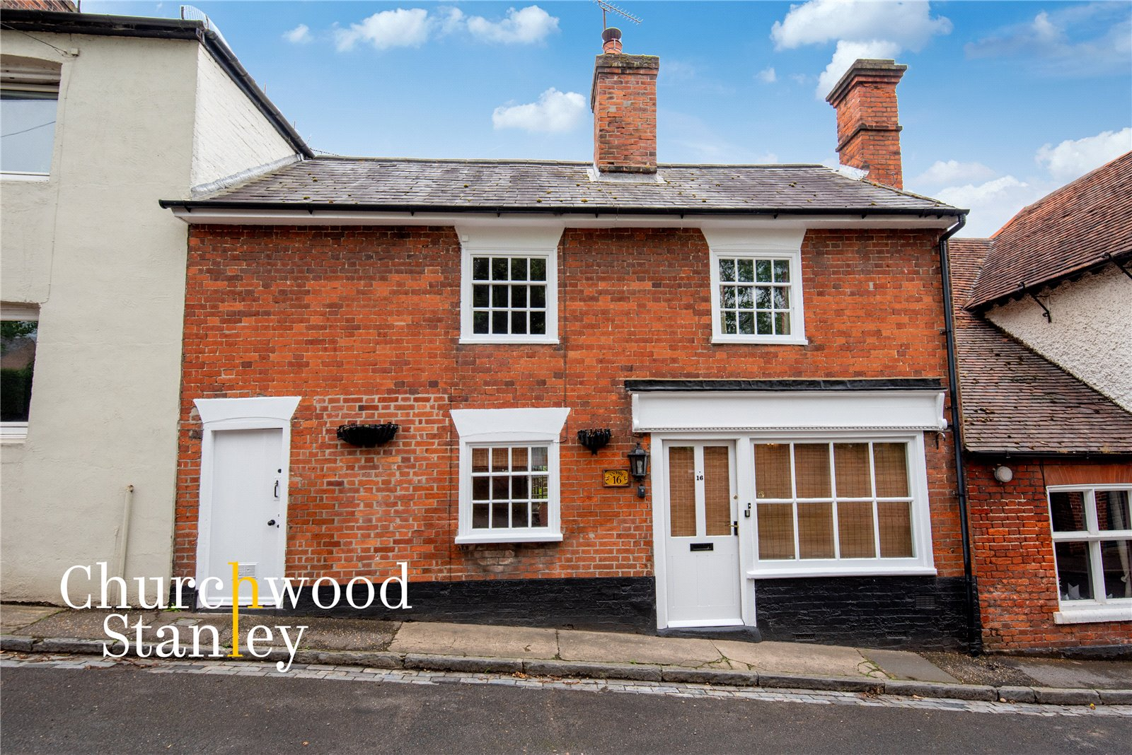 2 bed terraced house for sale in Brook Street, Manningtree, CO11