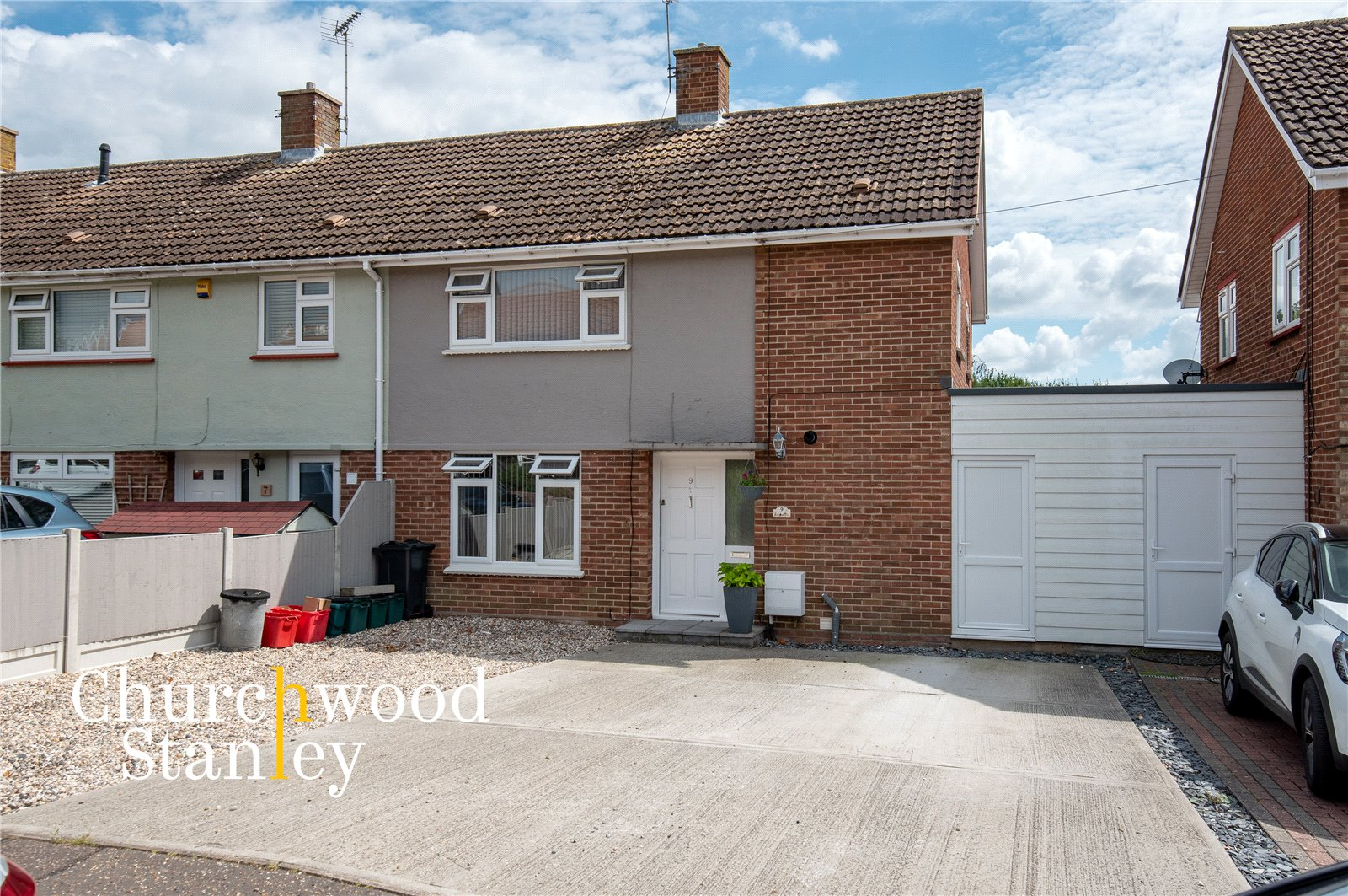 3 bed semi-detached house for sale in Deanes Close, Dovercourt, Harwich, CO12