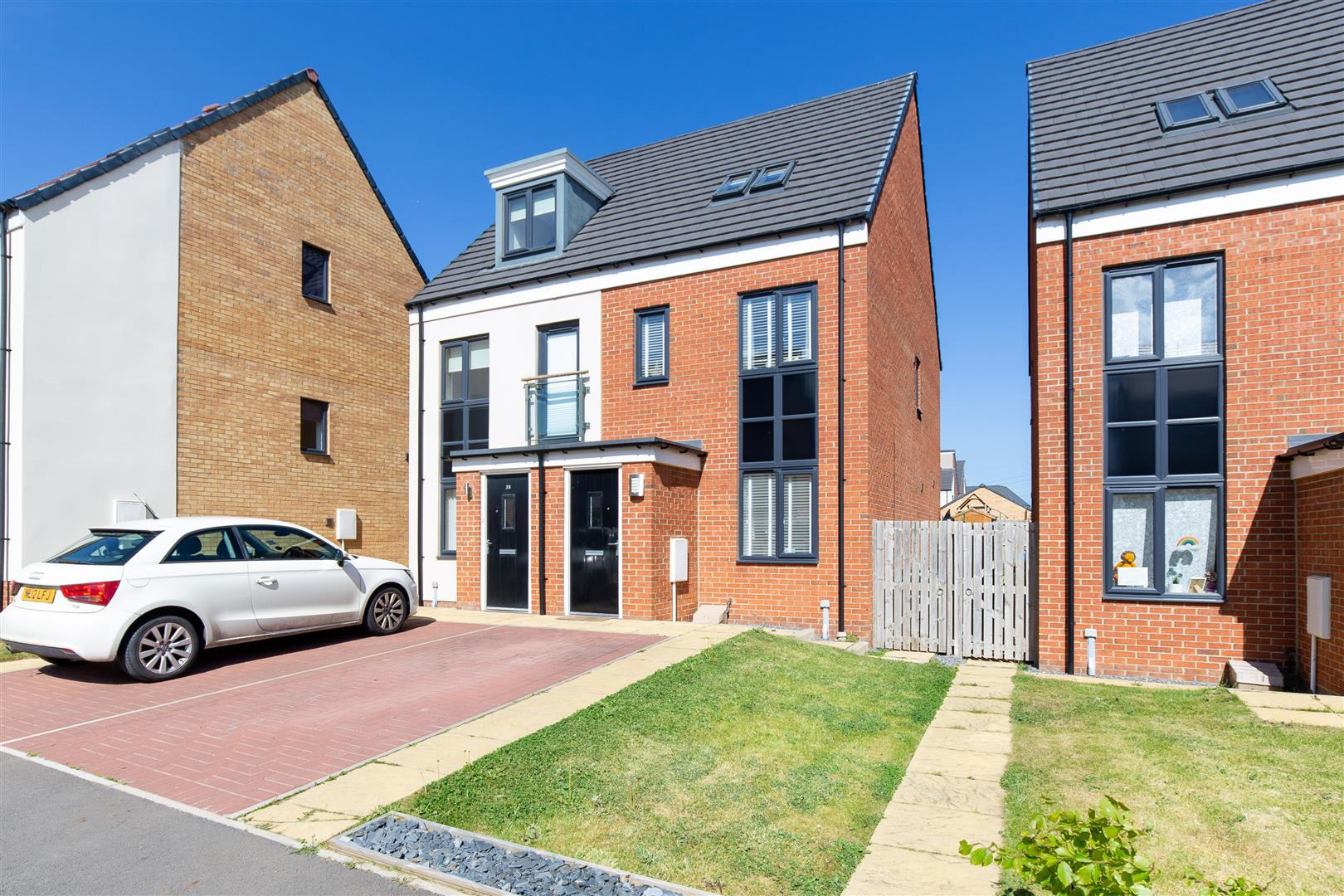 3 bed semi-detached house for sale in Newcastle upon Tyne, NE13 9BY  - Property Image 1