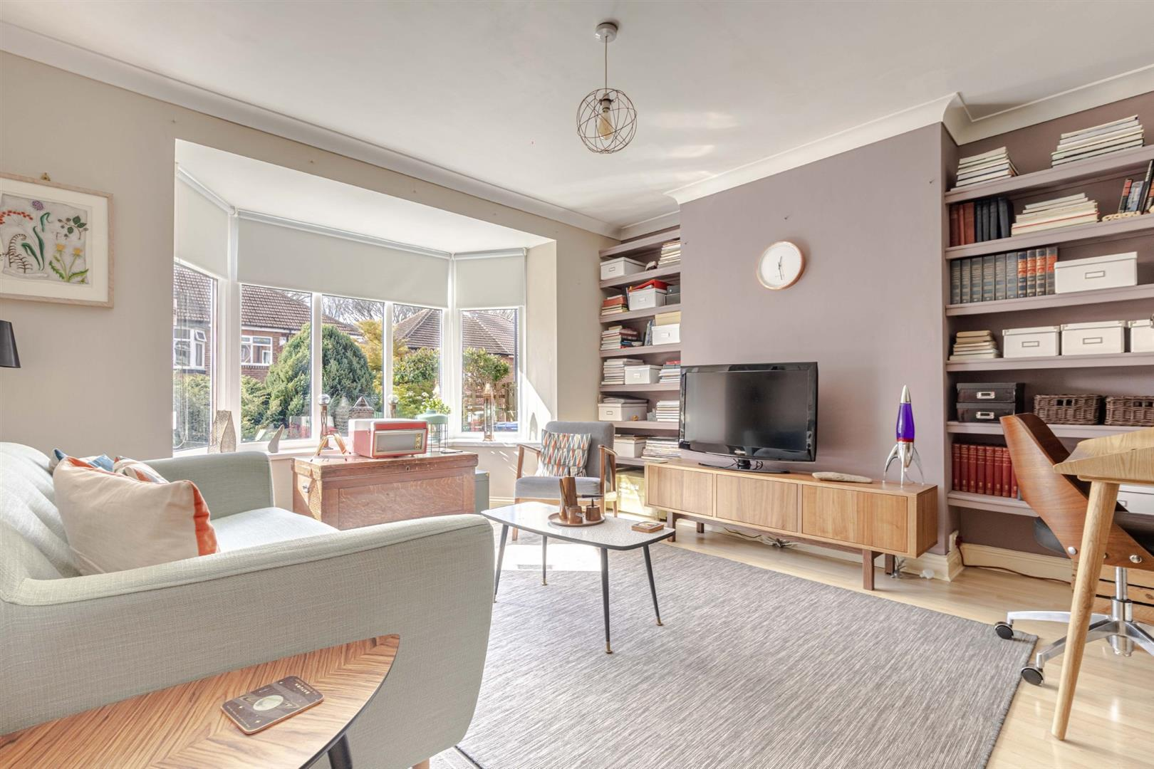4 bed semi-detached house for sale in Broxholm Road, Heaton  - Property Image 1