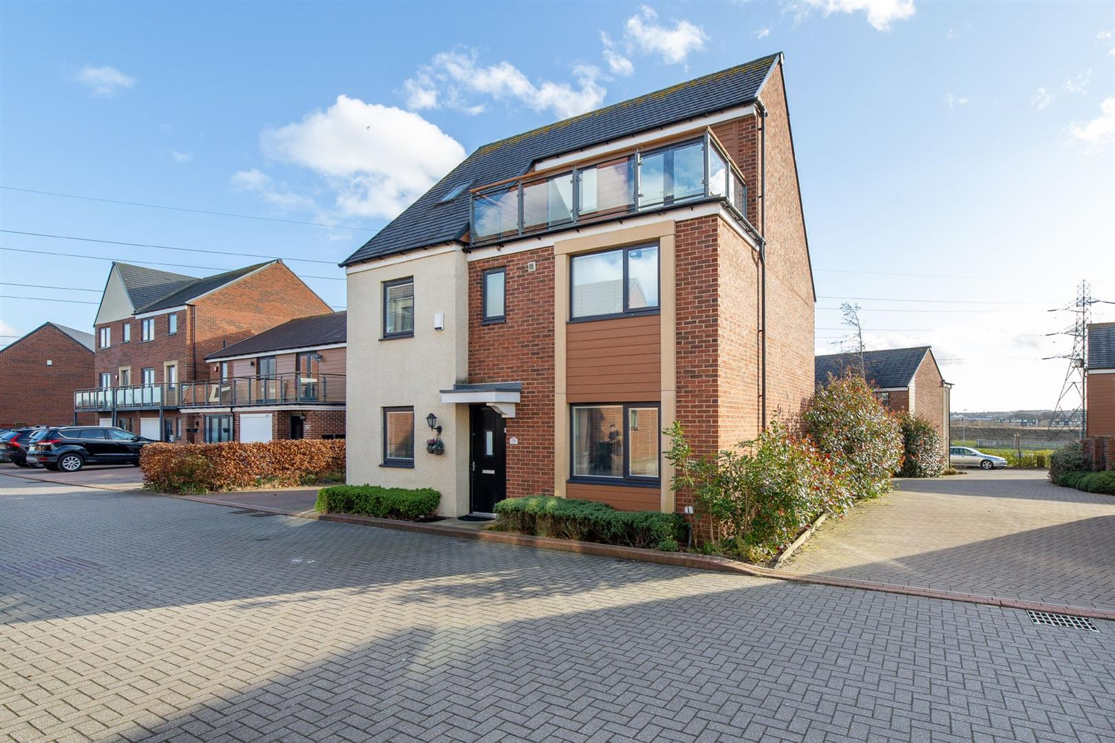 5 bed detached house for sale in Great Park, NE13 9BF  - Property Image 1