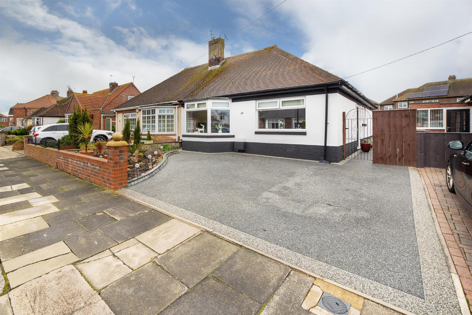 3 bed semi-detached bungalow for sale in Craneswater Avenue, Whitley Bay  - Property Image 1