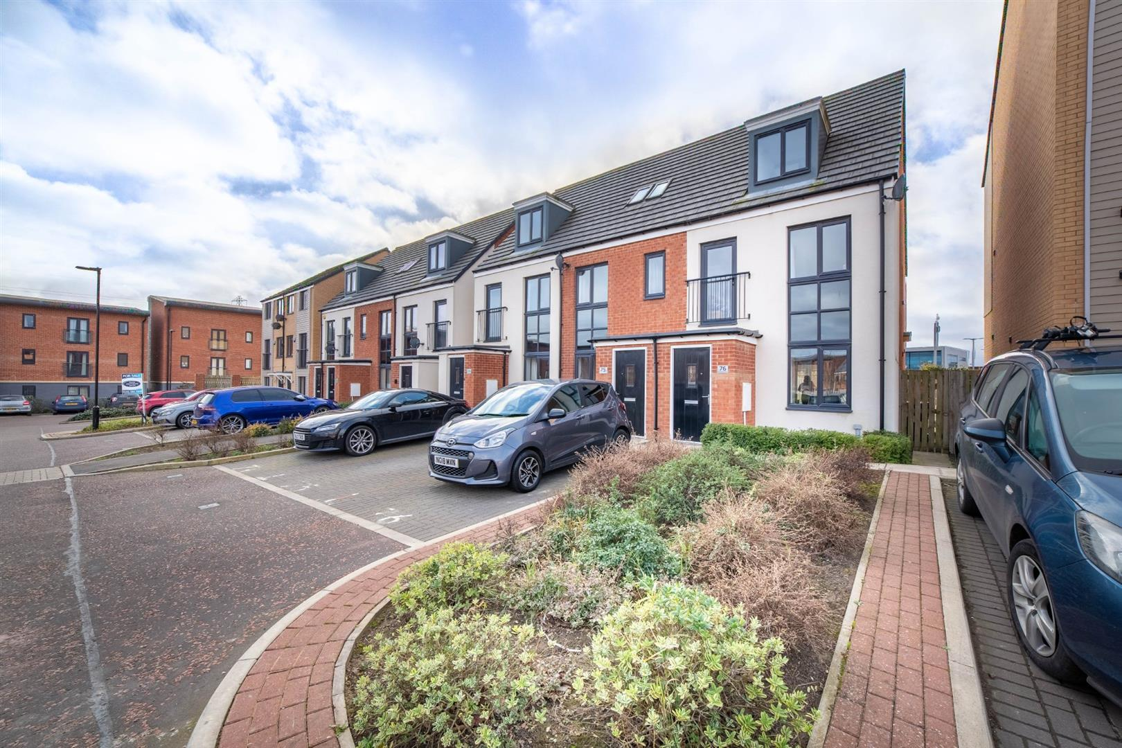3 bed end of terrace house for sale in Gosforth, NE13 9BS - Property Image 1