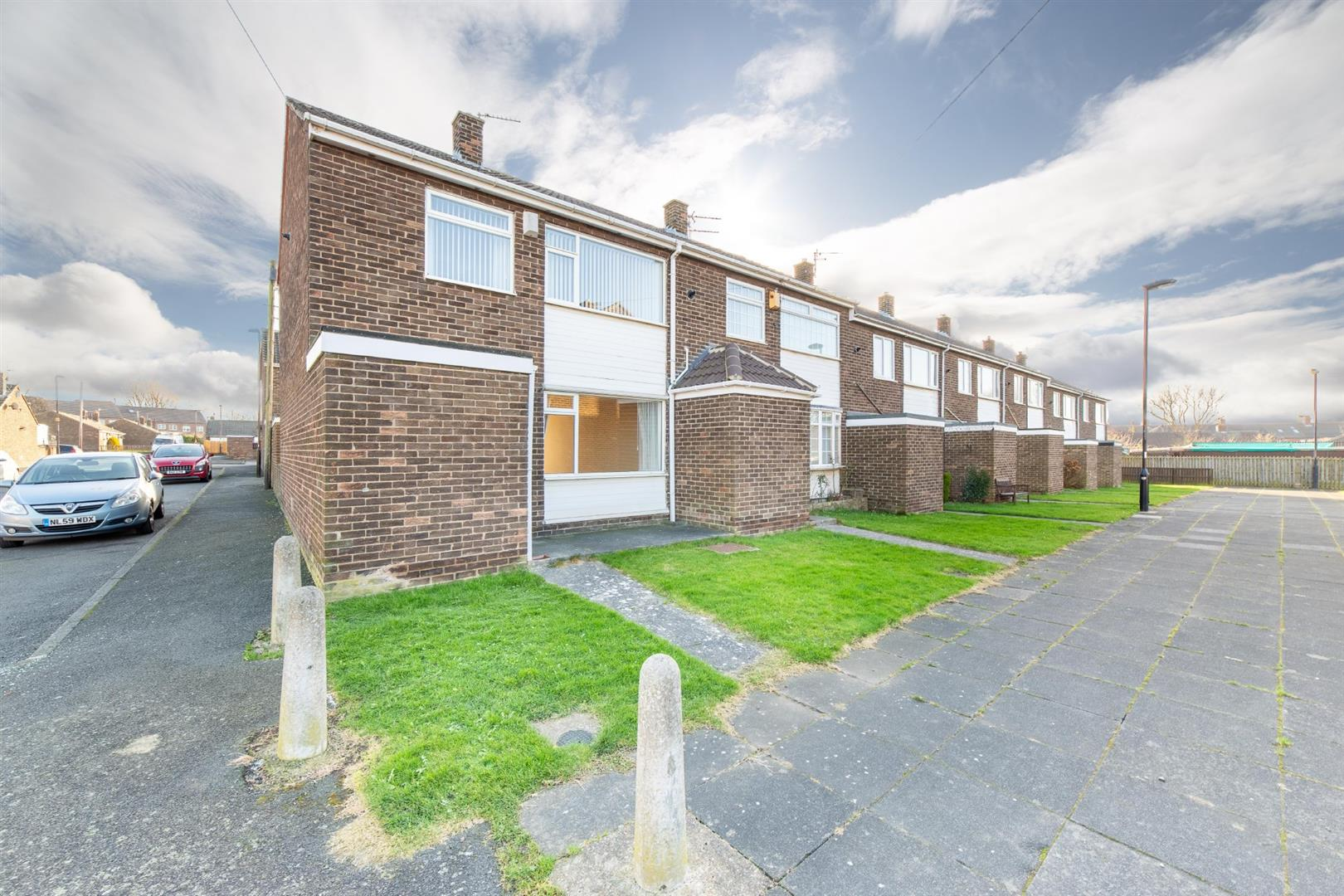 2 bed end of terrace house for sale in Cramlington, NE23 7NU  - Property Image 1