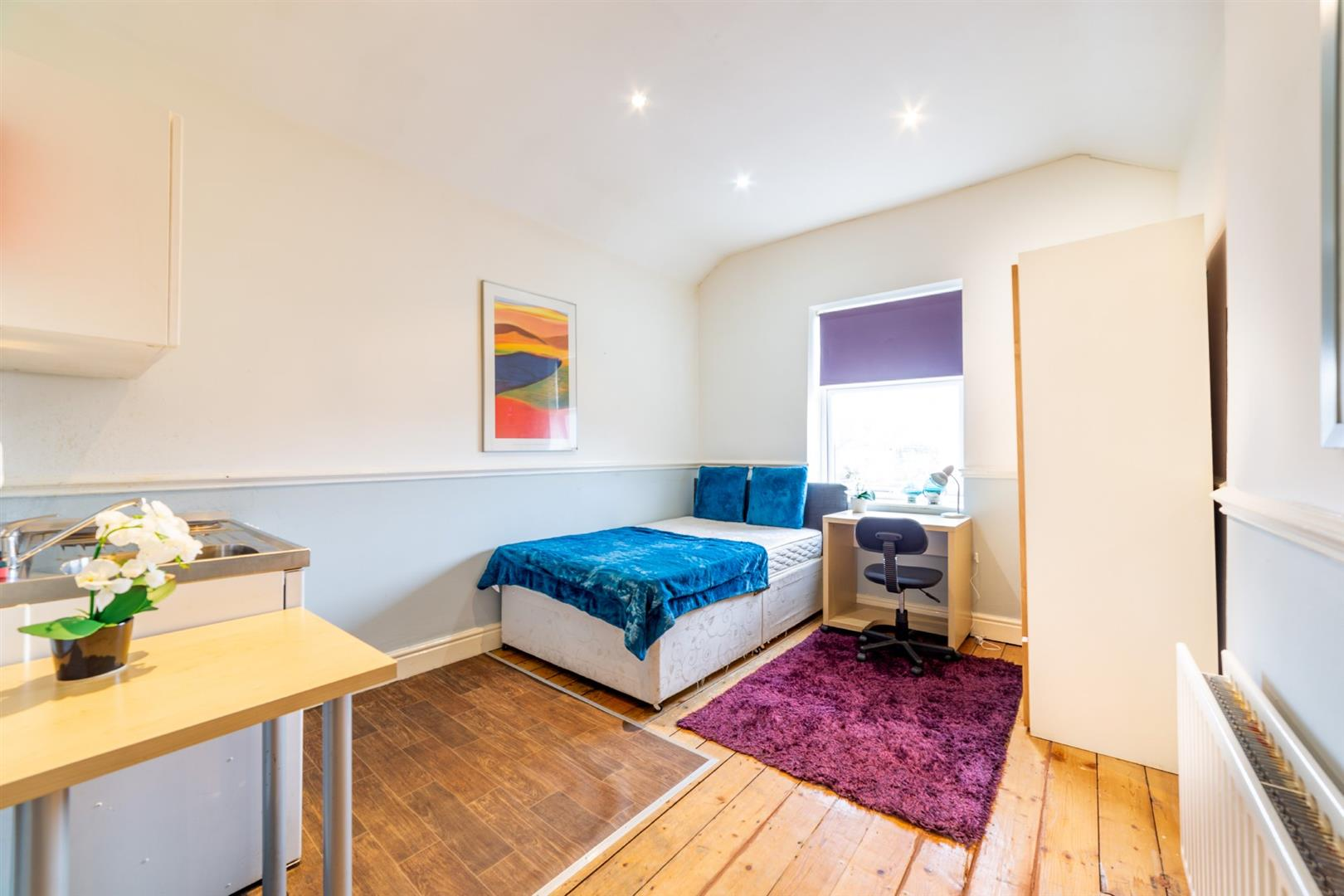 1 bed studio flat to rent in Newcastle Upon Tyne, NE4 6AQ - Property Image 1