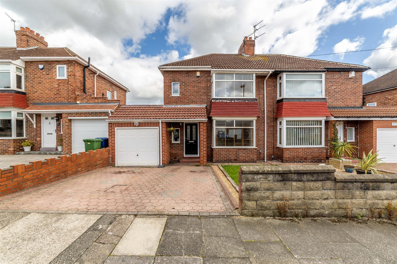 2 bed semi-detached house for sale in Newcastle Upon Tyne, NE7 7RT - Property Image 1