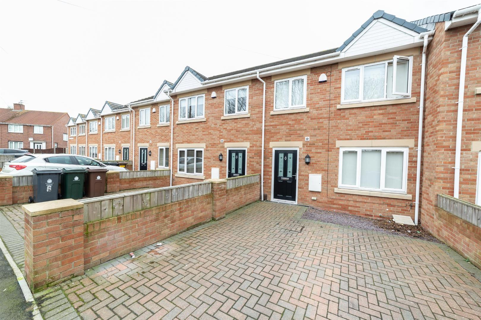 2 bed terraced house to rent in Willington Mews, Wallsend, NE28
