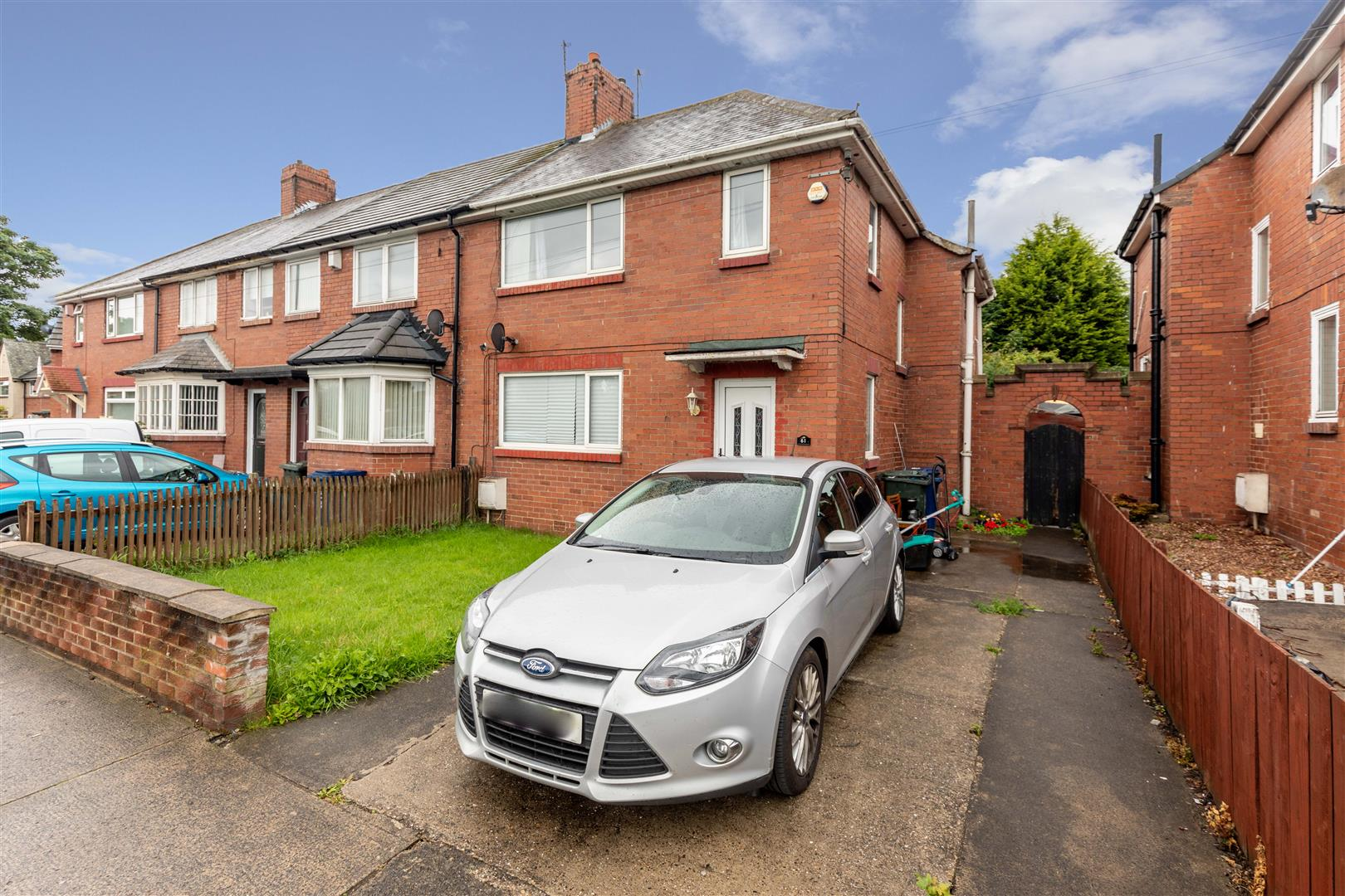 3 bed semi-detached house for sale in Benton Road, High Heaton - Property Image 1