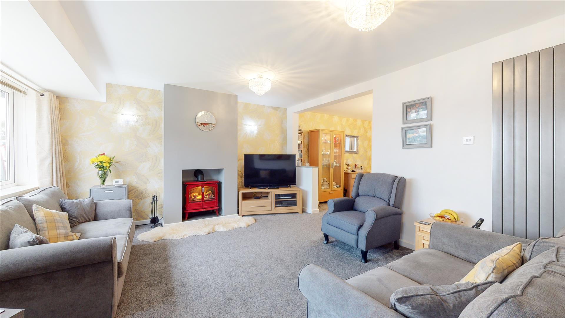 3 bed semi-detached house for sale in Cramlington, NE23 7DL - Property Image 1