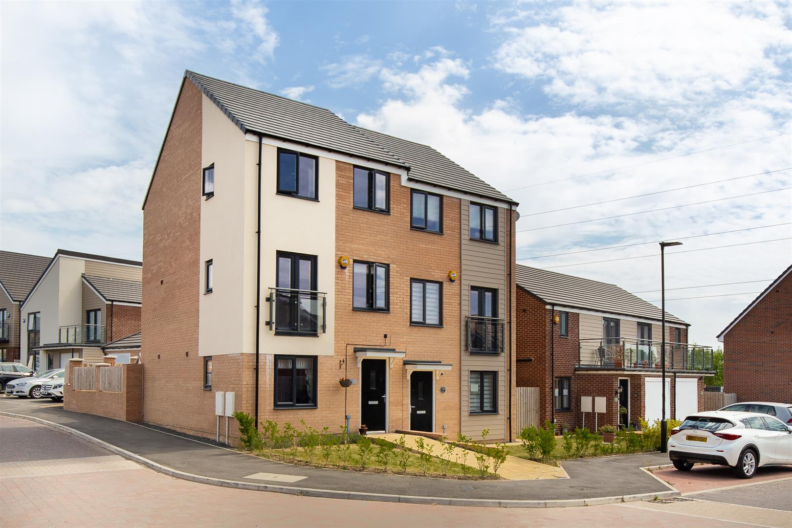 3 bed town house for sale in Newcastle Upon Tyne, NE13 9DW  - Property Image 1
