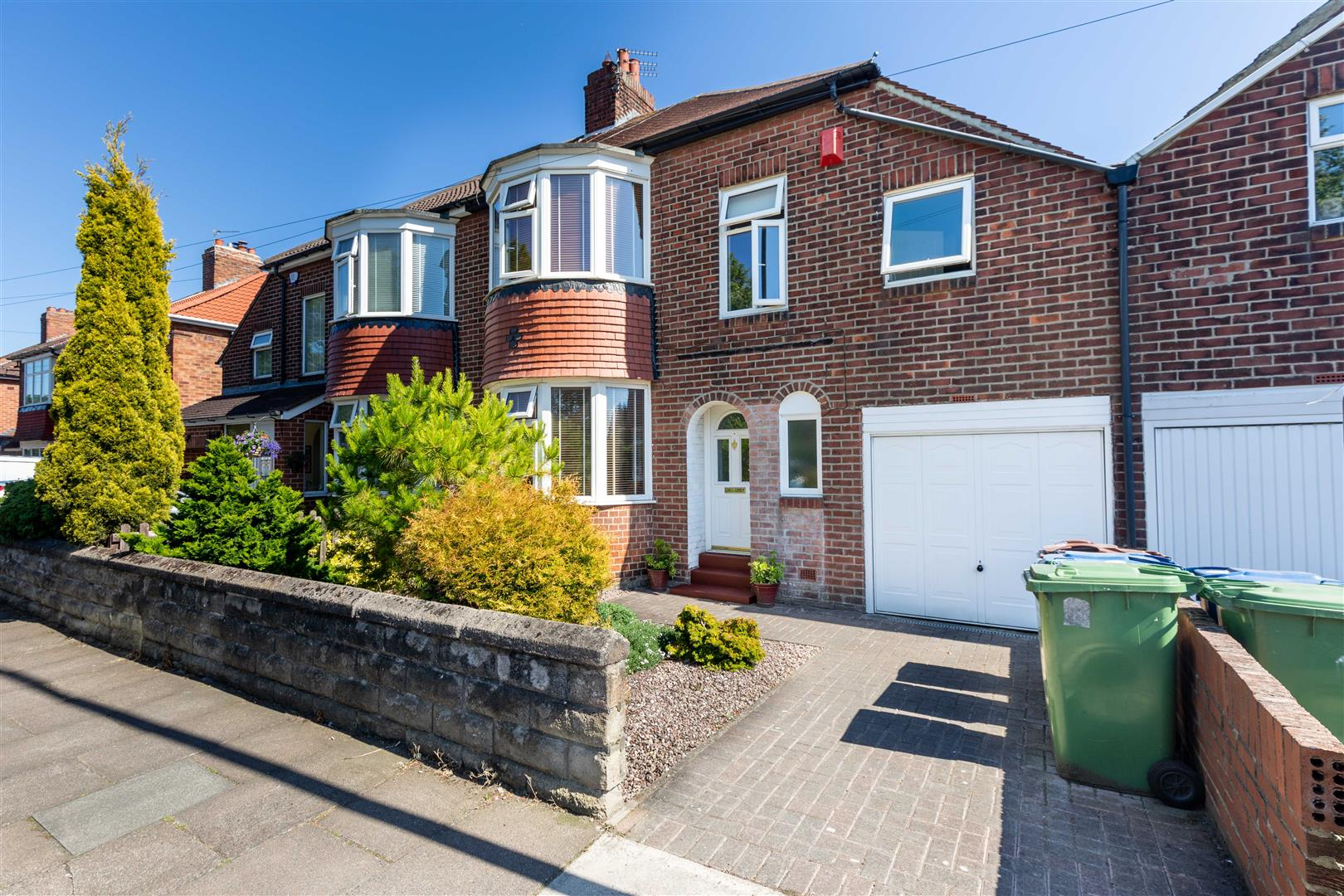 3 bed semi-detached house for sale in Newcastle Upon Tyne, NE7 7JX - Property Image 1