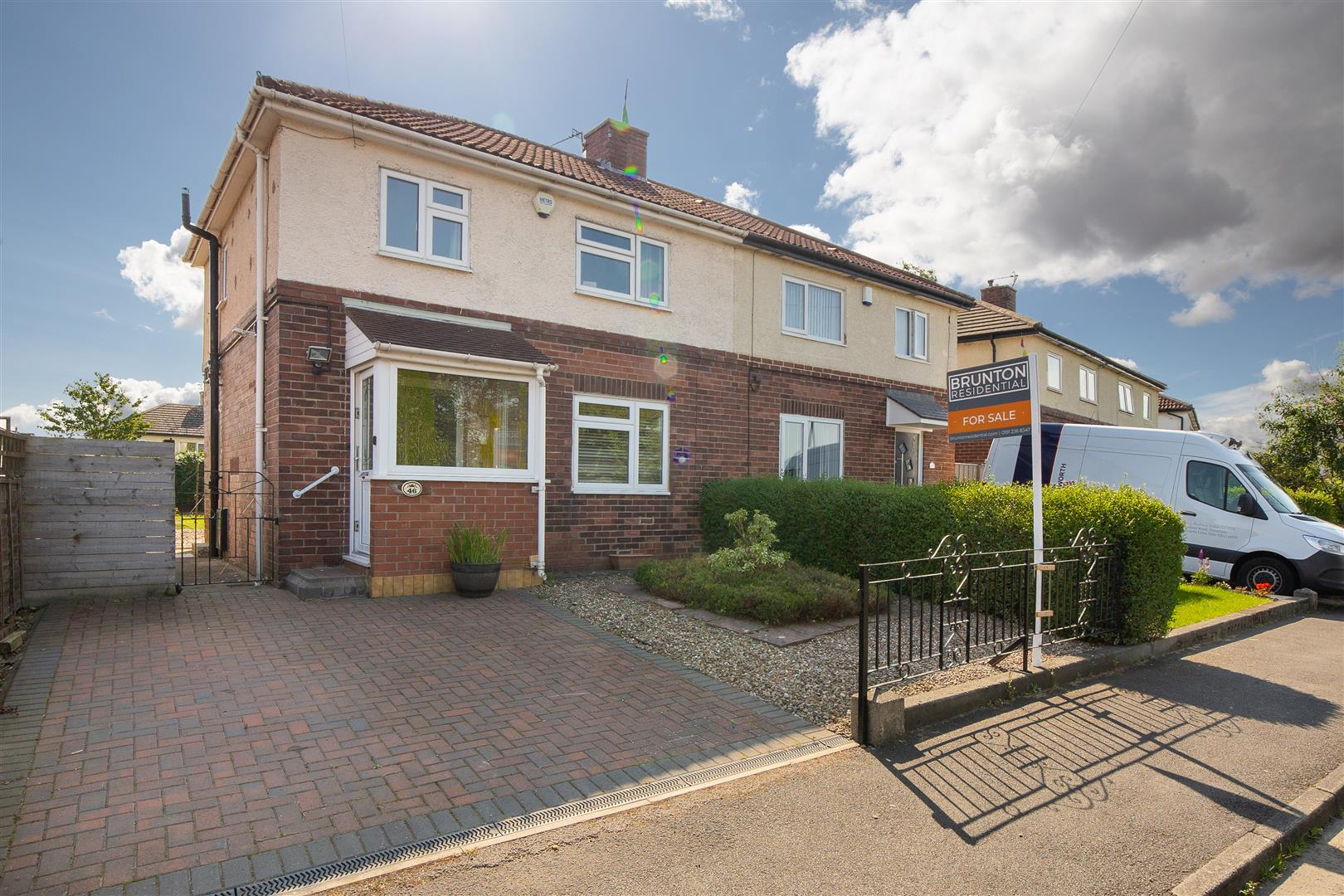 3 bed semi-detached house for sale in Newcastle Upon Tyne, NE15 9HL  - Property Image 1