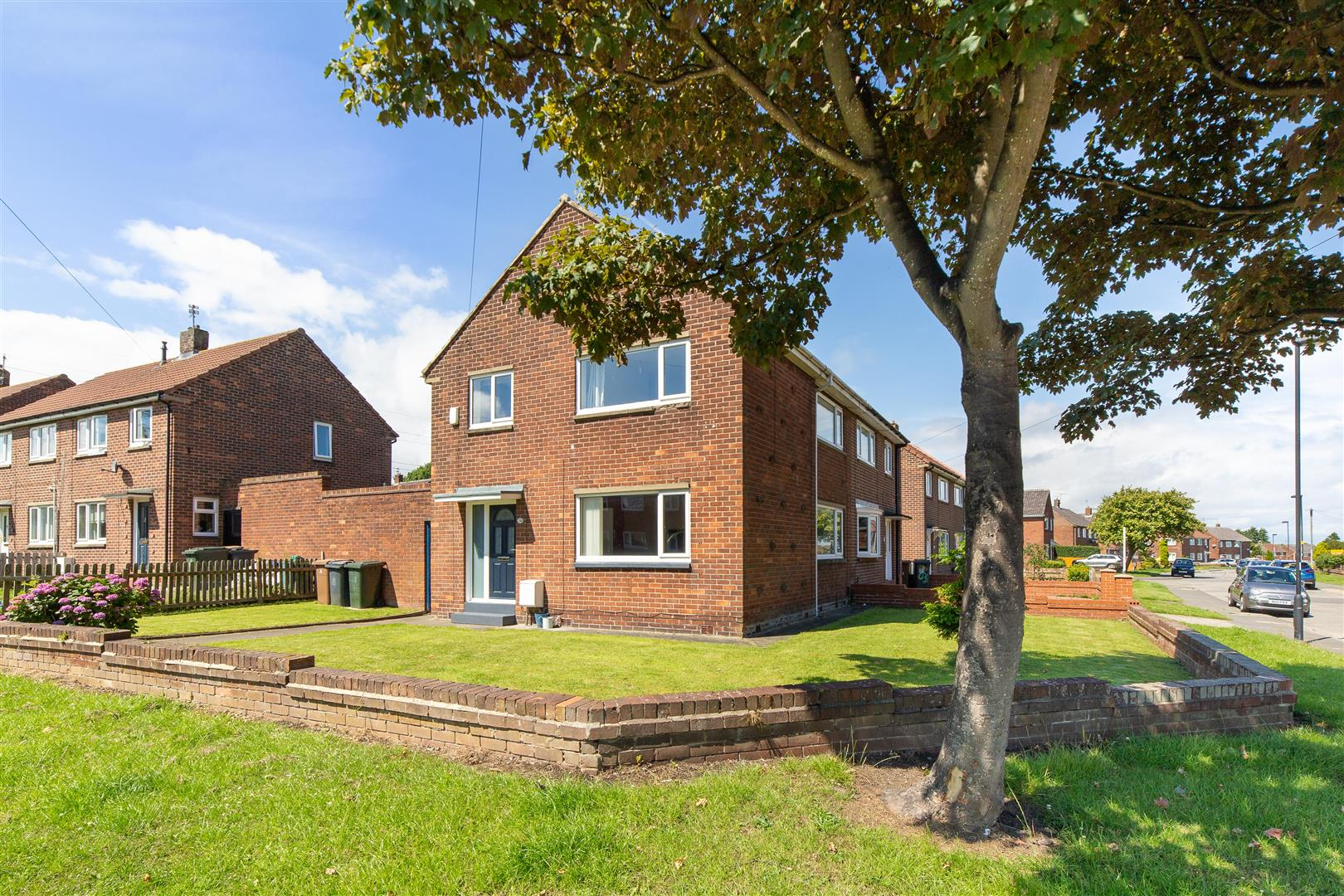 3 bed semi-detached house for sale in Colwell Road, Shiremoor - Property Image 1