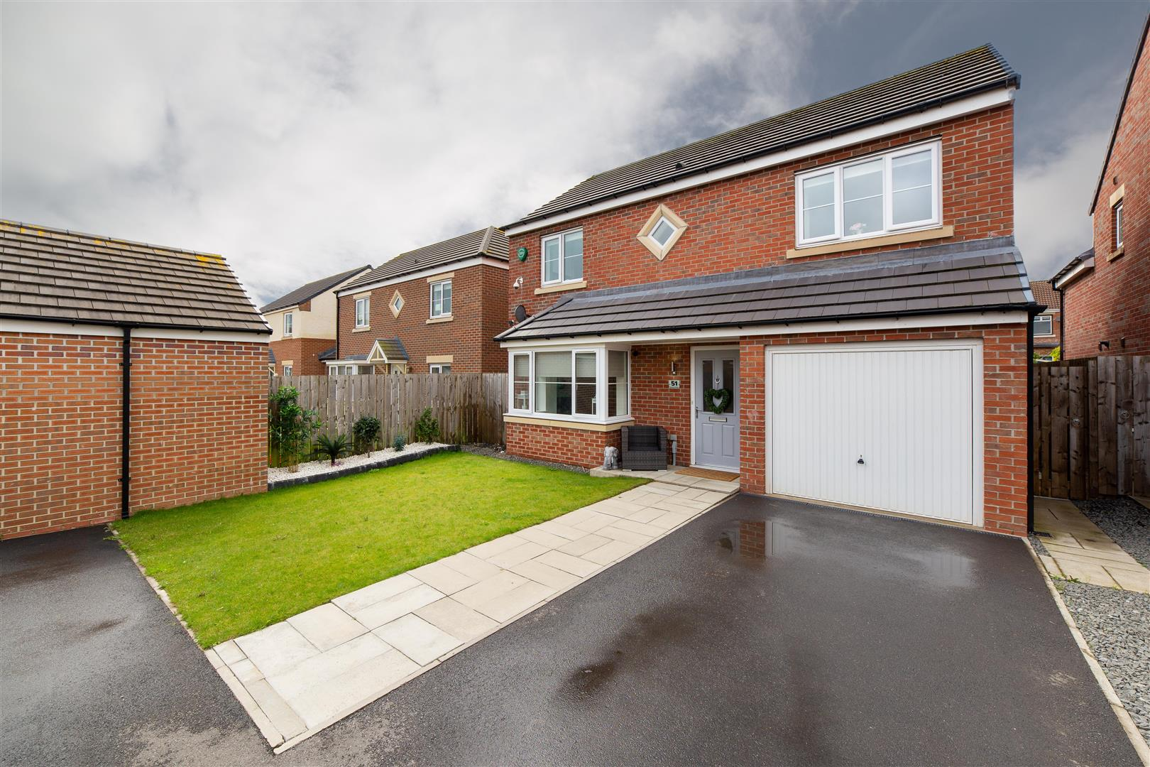 4 bed detached house for sale in Newcastle Upon Tyne, NE13 6LE - Property Image 1