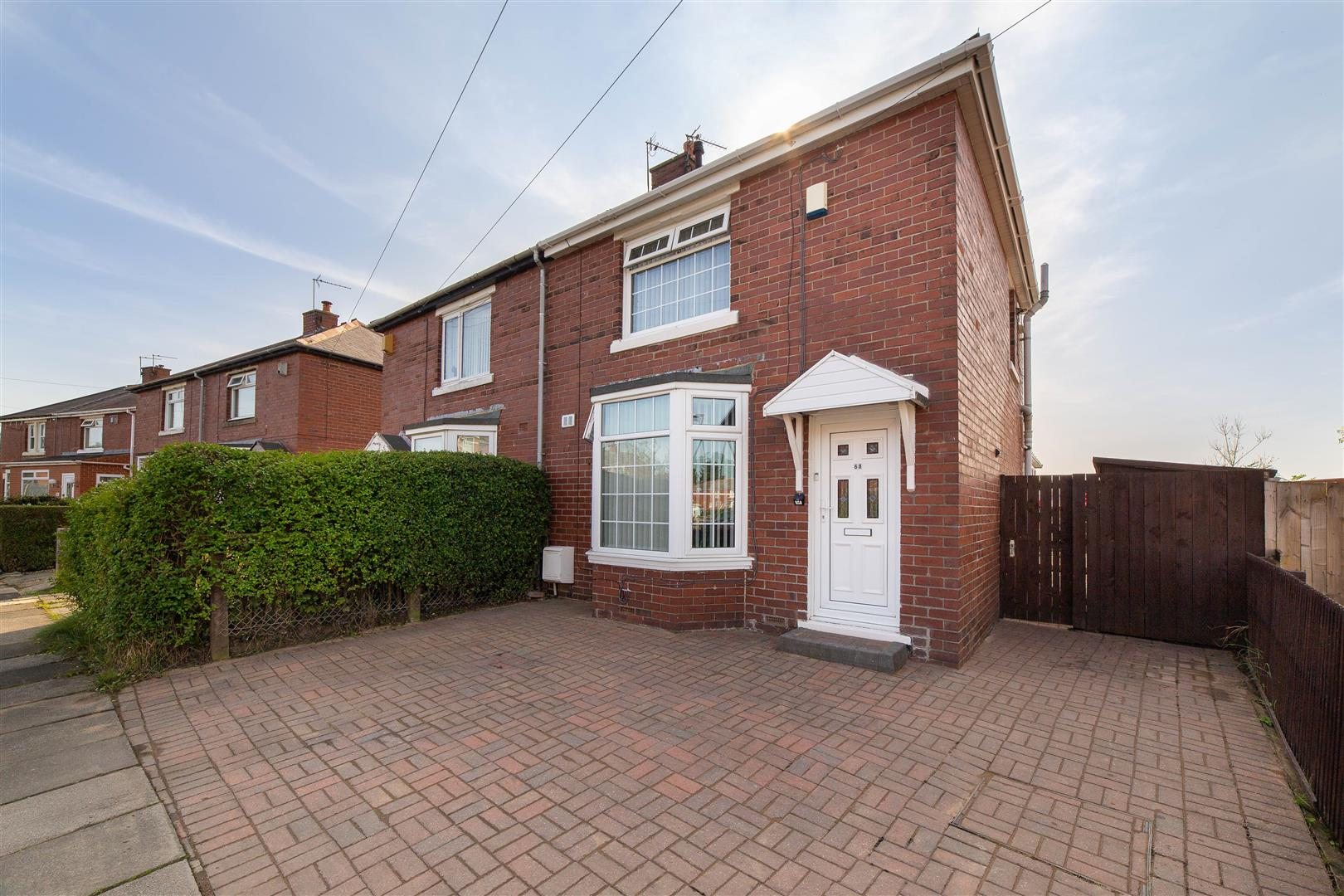2 bed semi-detached house for sale in Wallsend, NE28 9ES, NE28