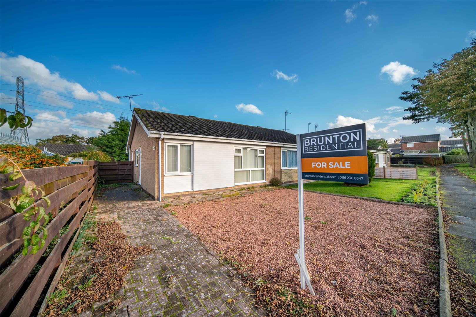 2 bed semi-detached bungalow for sale in Newcastle Upon Tyne, NE13 7HA, NE13