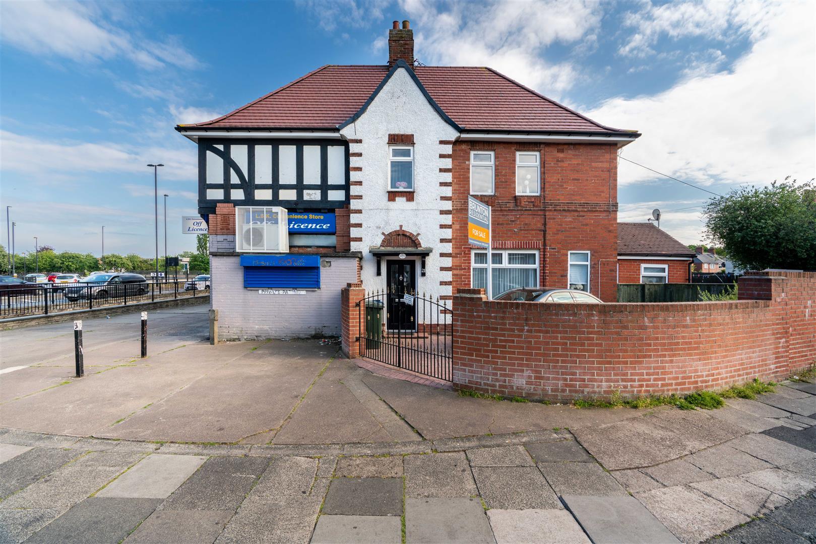 4 bed semi-detached house for sale in Benton Road, High Heaton, NE7