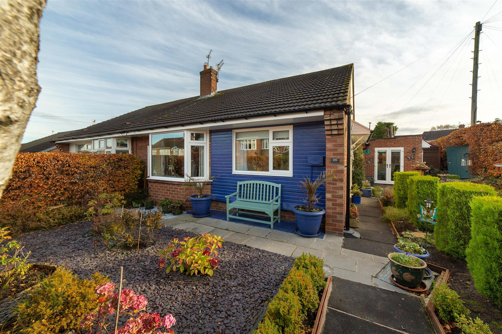 2 bed semi-detached bungalow for sale in Wideopen, NE13 6AG - Property Image 1