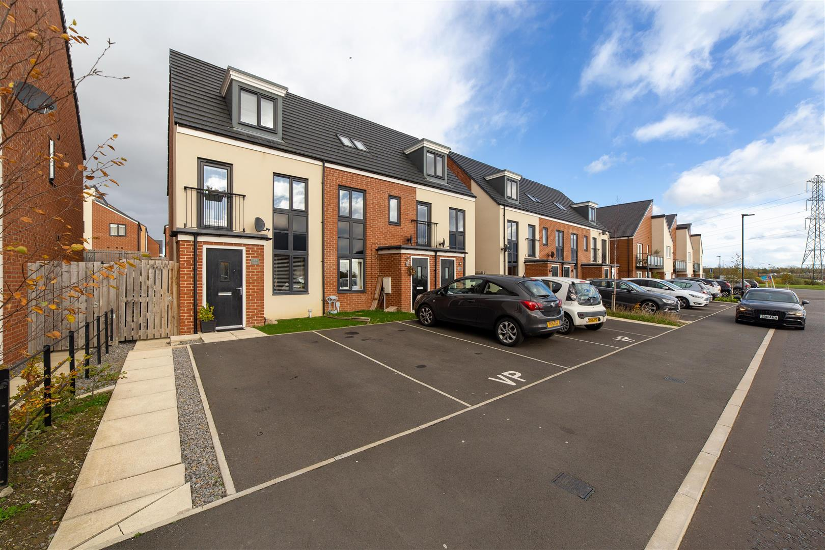 3 bed town house for sale in Newcastle Upon Tyne, NE13 9DR, NE13