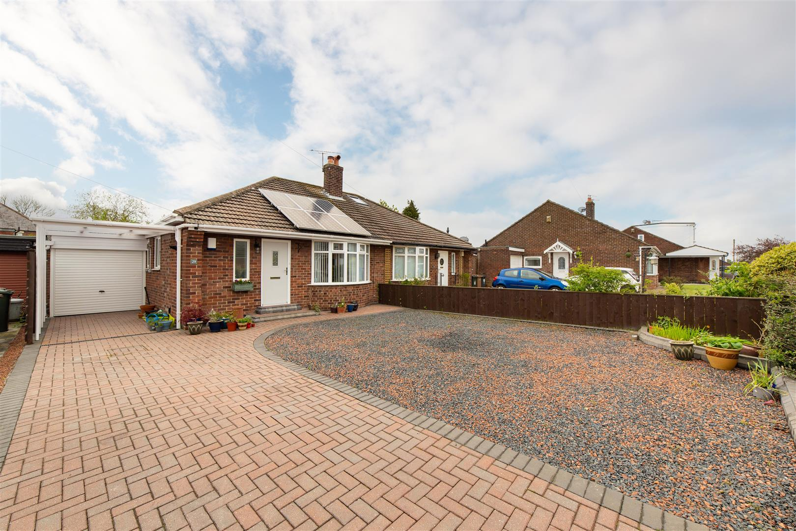 2 bed semi-detached bungalow for sale in Worcester Way, Wideopen, NE13