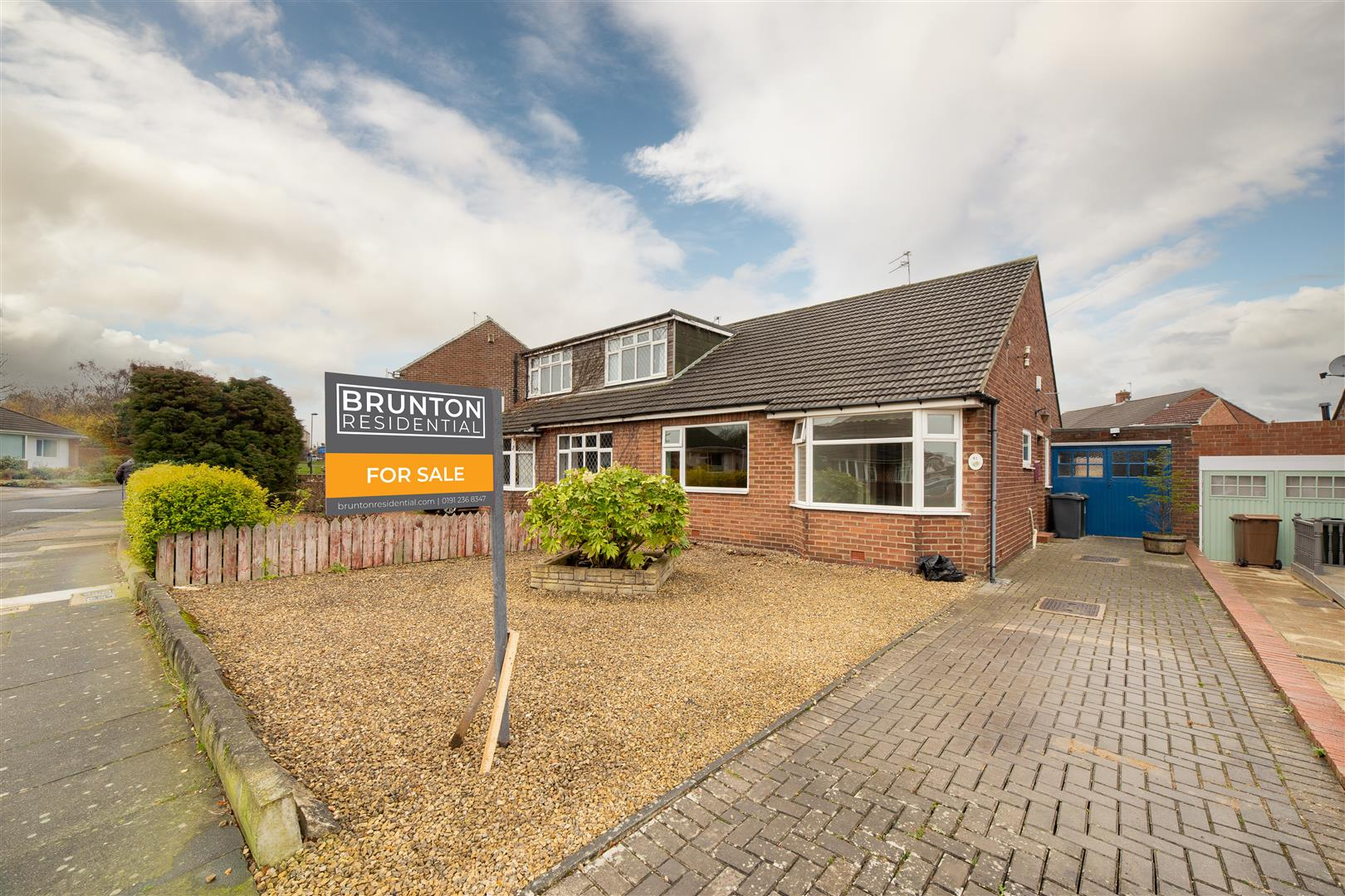 2 bed semi-detached bungalow for sale in Newcastle Upon Tyne, NE13 6AB - Property Image 1