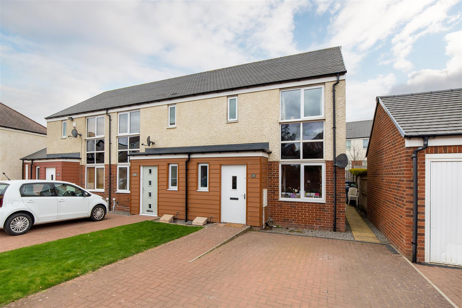 3 bed end of terrace house for sale in Bowden Close, Great Park, NE13