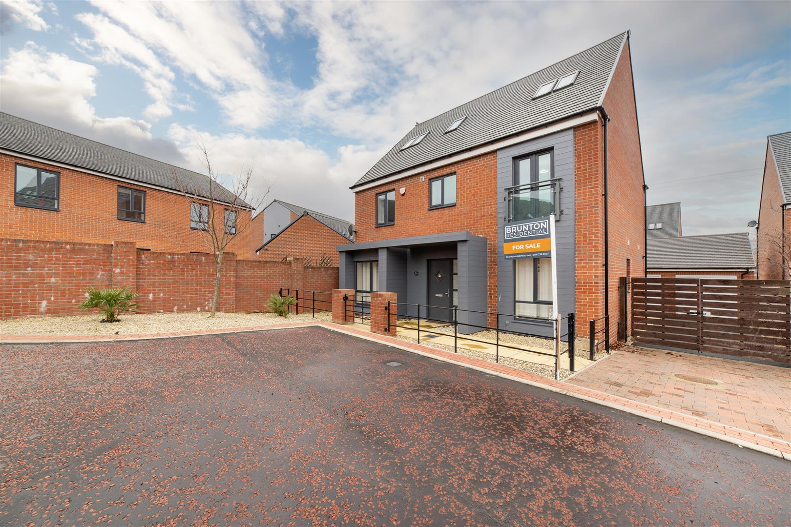 6 bed detached house for sale in Warenton Way, Great Park, NE13