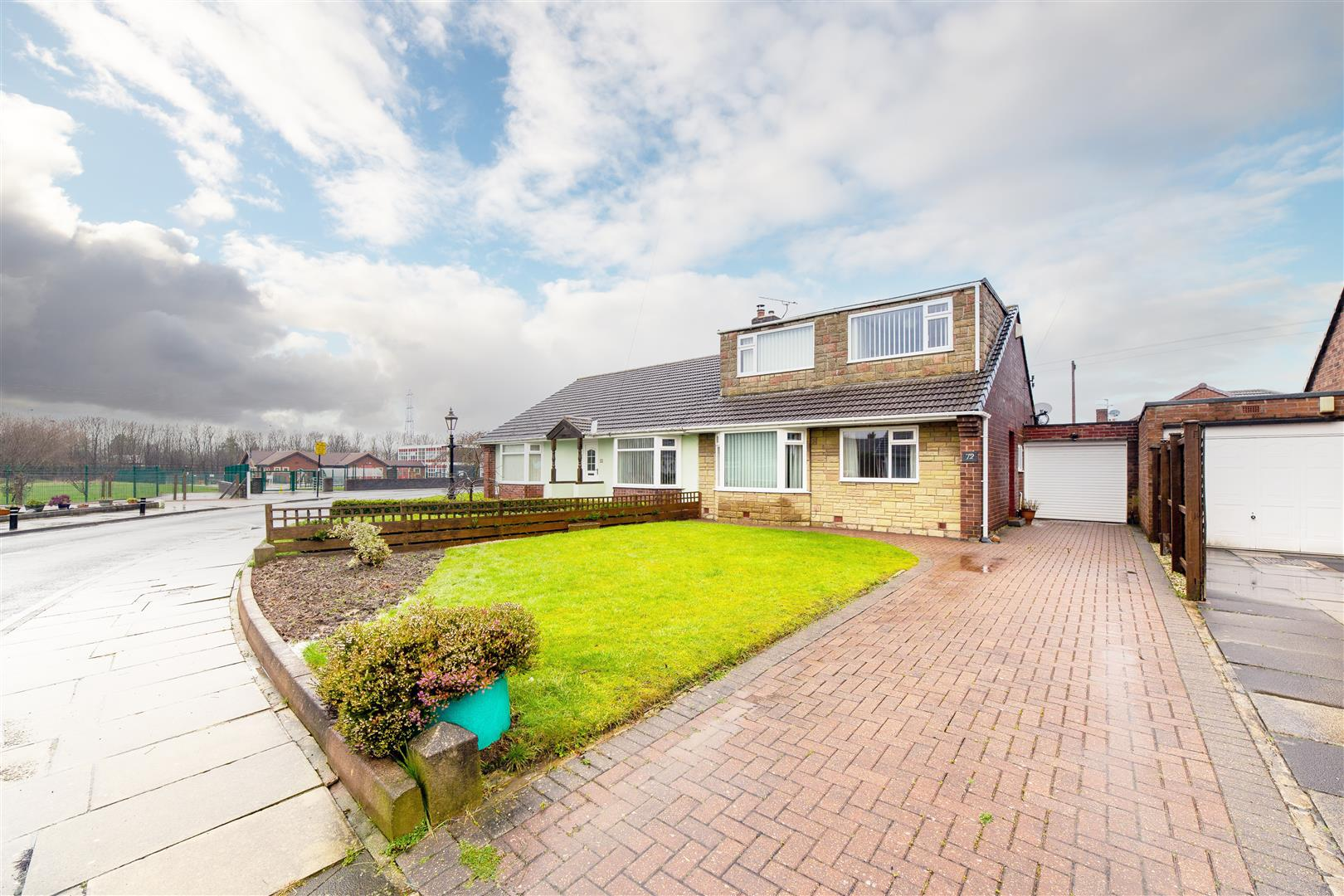 4 bed semi-detached bungalow for sale in Wideopen, NE13 6JH, NE13