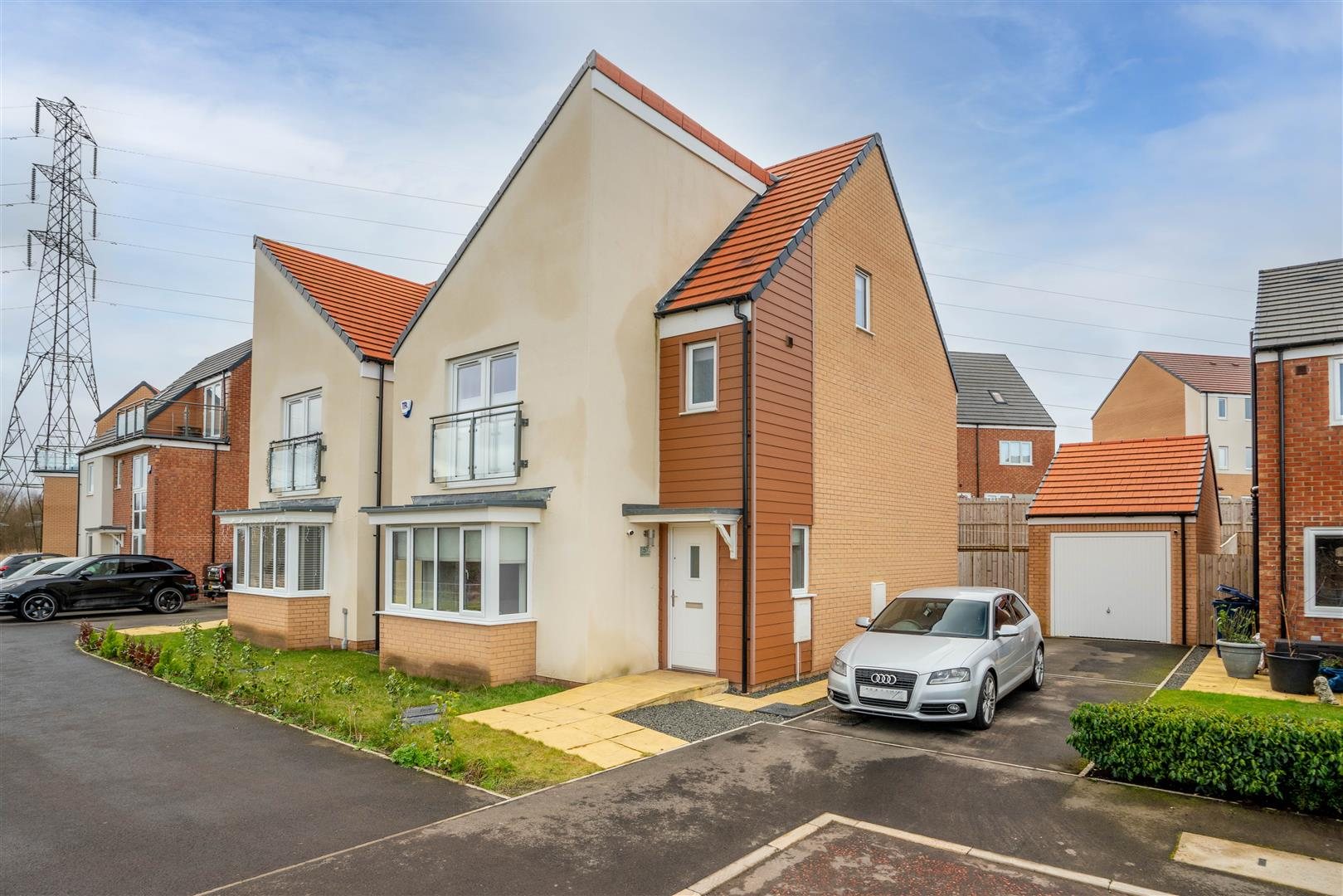 4 bed detached house for sale in Newcastle Upon Tyne, NE13 9DU, NE13