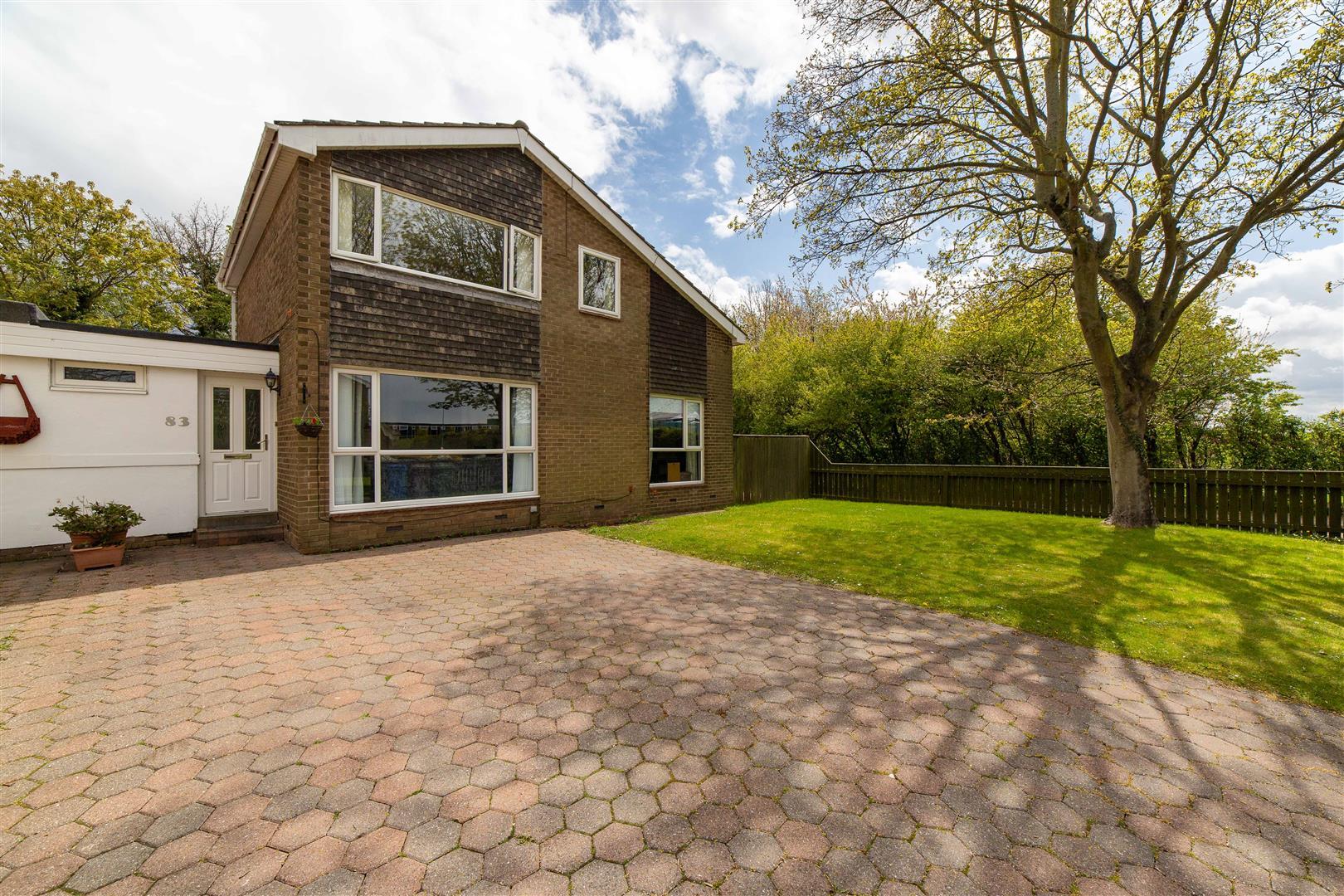 5 bed link detached house for sale in Highburn, Cramlington, NE23
