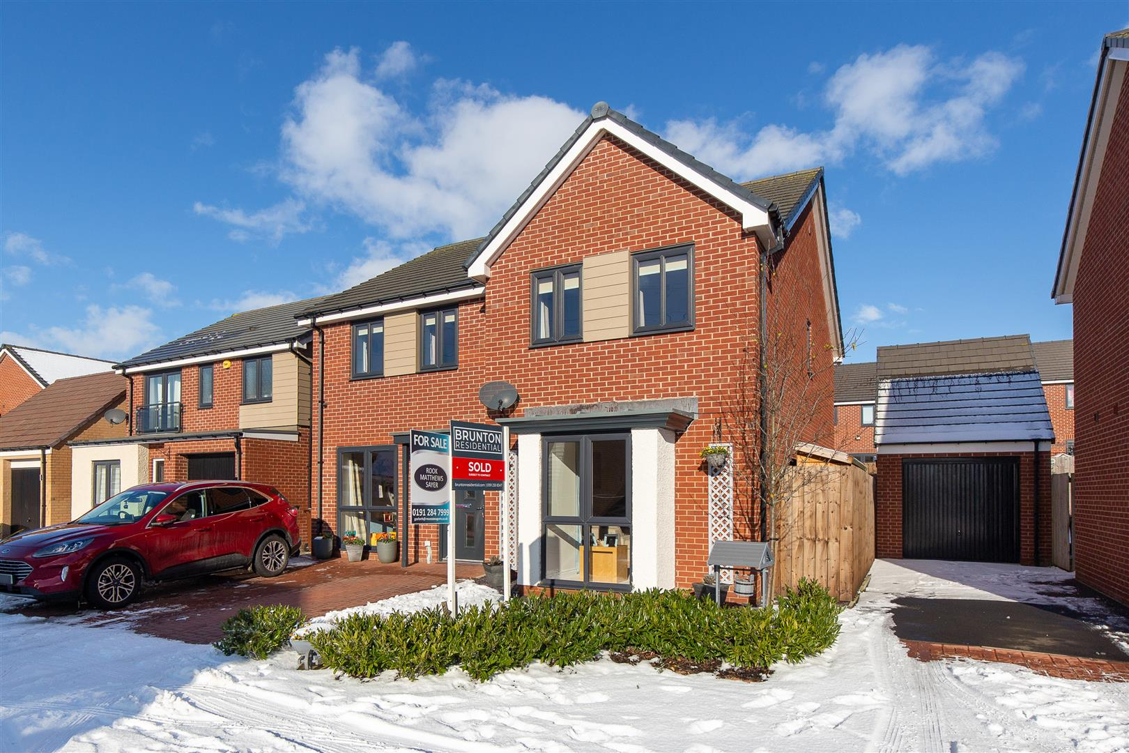 4 bed detached house for sale in Bridget Gardens, Great Park - Property Image 1