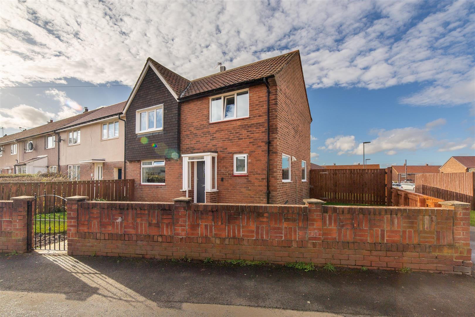3 bed semi-detached house for sale in Bardsey Place, Longbenton, NE12