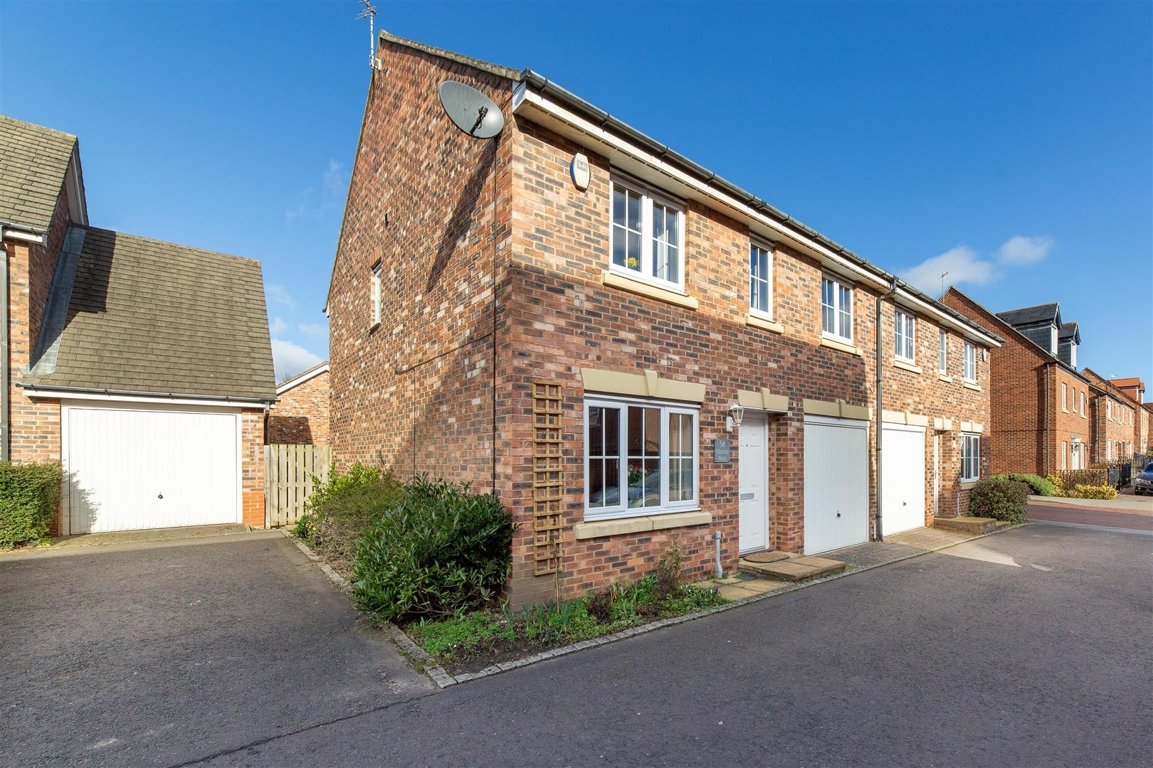 4 bed semi-detached house for sale in Chipchase Mews, Great Park, NE3