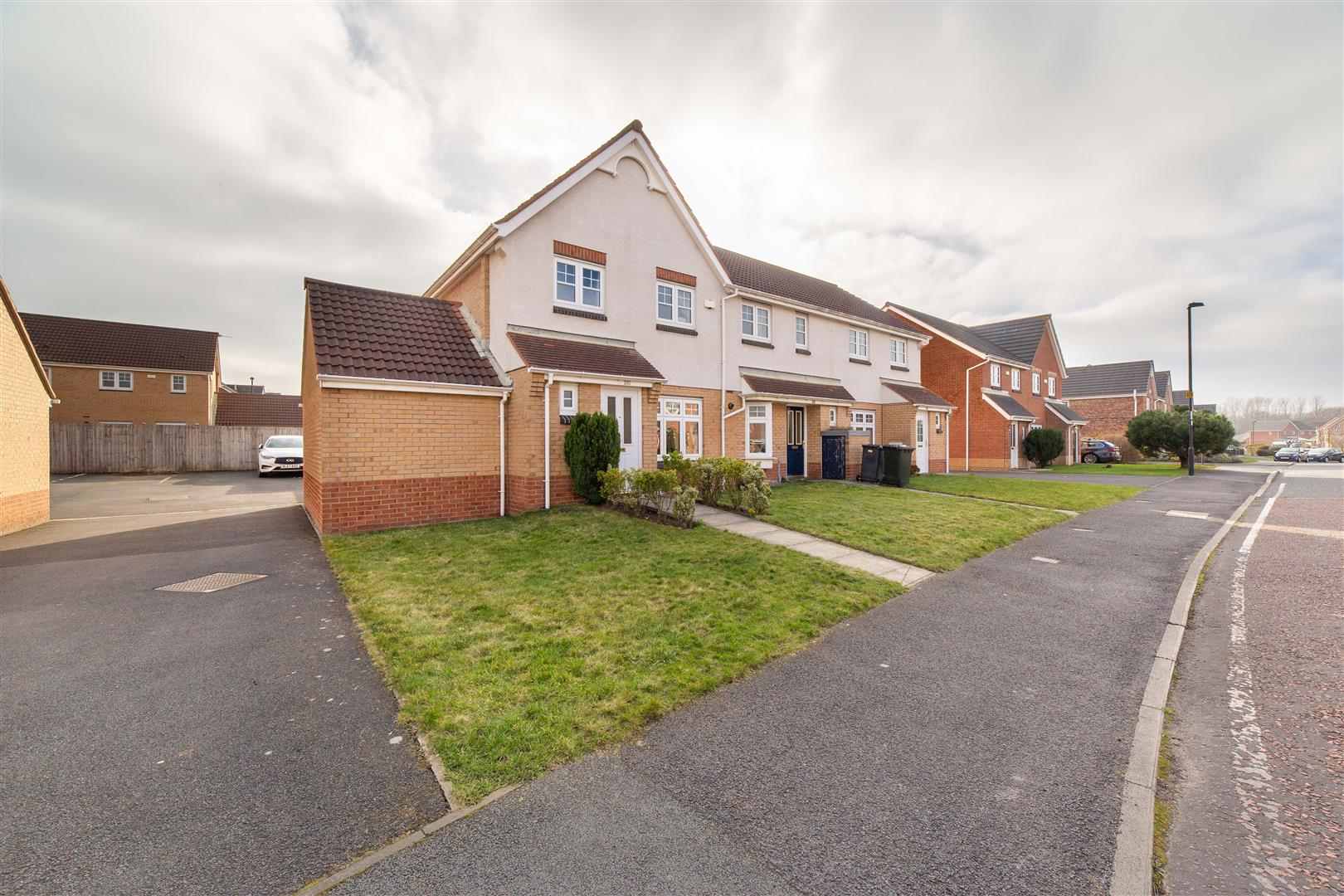 3 bed end of terrace house for sale in Longbenton, NE12 8UH, NE12
