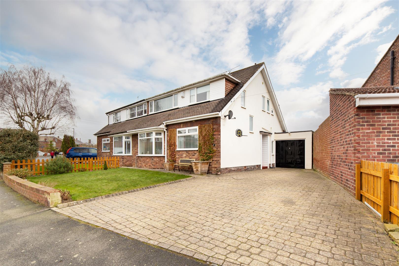 4 bed semi-detached house for sale in Brunton Park, NE3 5AN, NE3