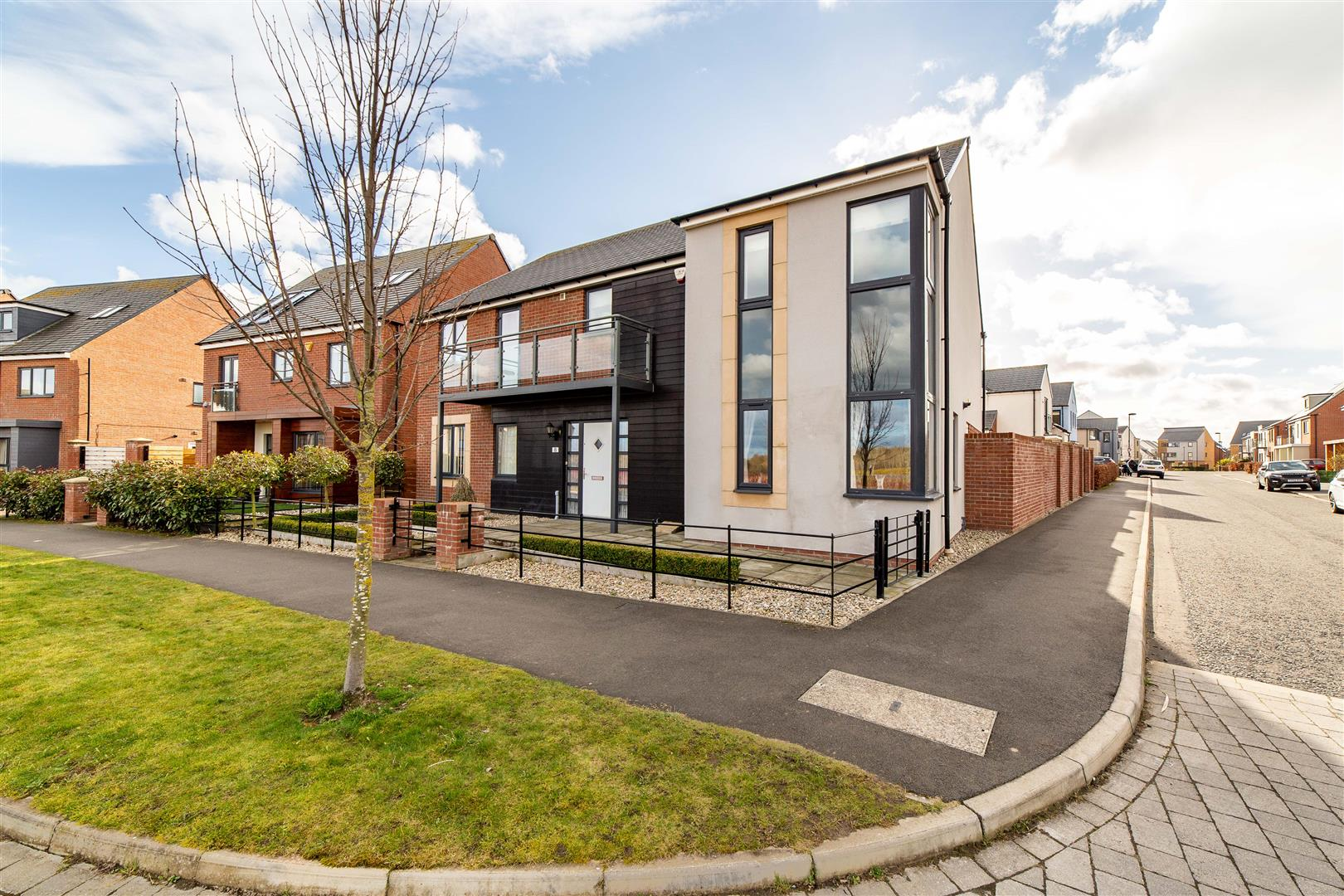 4 bed detached house for sale in Spindlestone View, Great Park, NE13