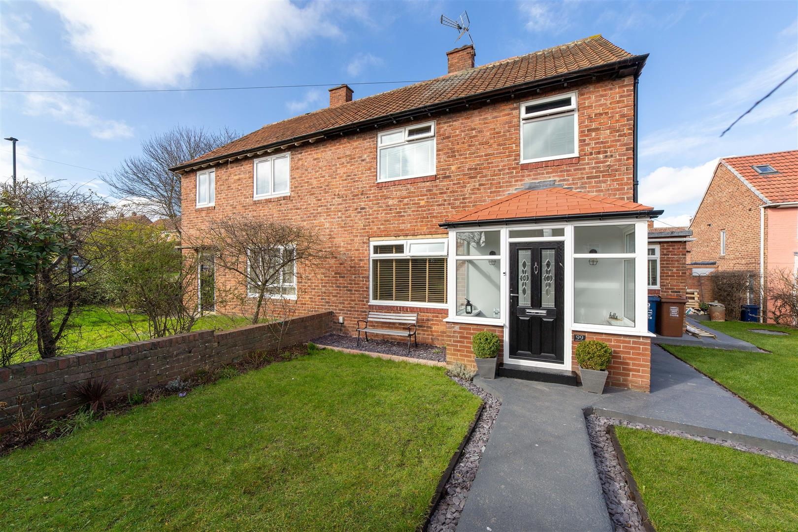 3 bed semi-detached house for sale in Burnfoot Way, Kenton  - Property Image 1